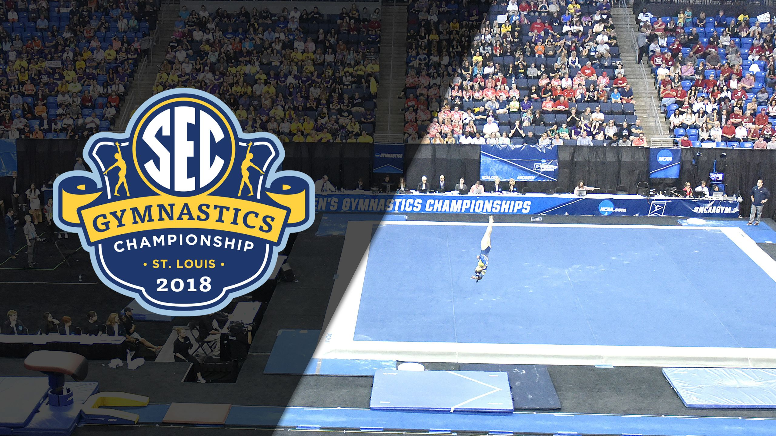 SEC Gymnastics Championship - Floor (Afternoon Session)
