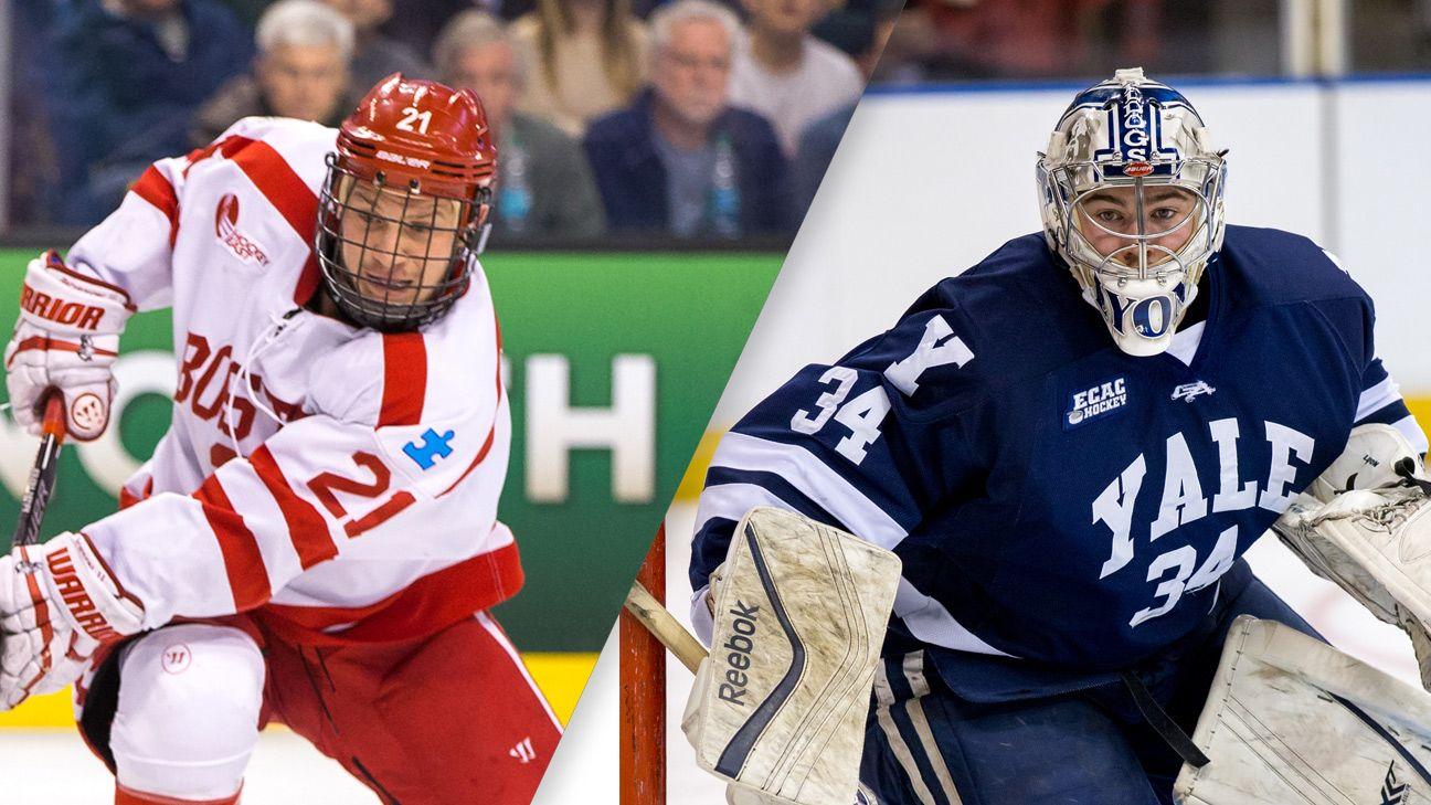 Boston University vs. #15 Yale (M Hockey)