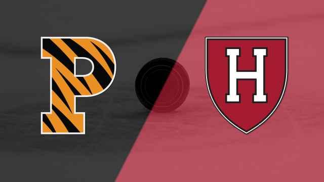 Princeton vs. #3 Harvard (M Hockey)