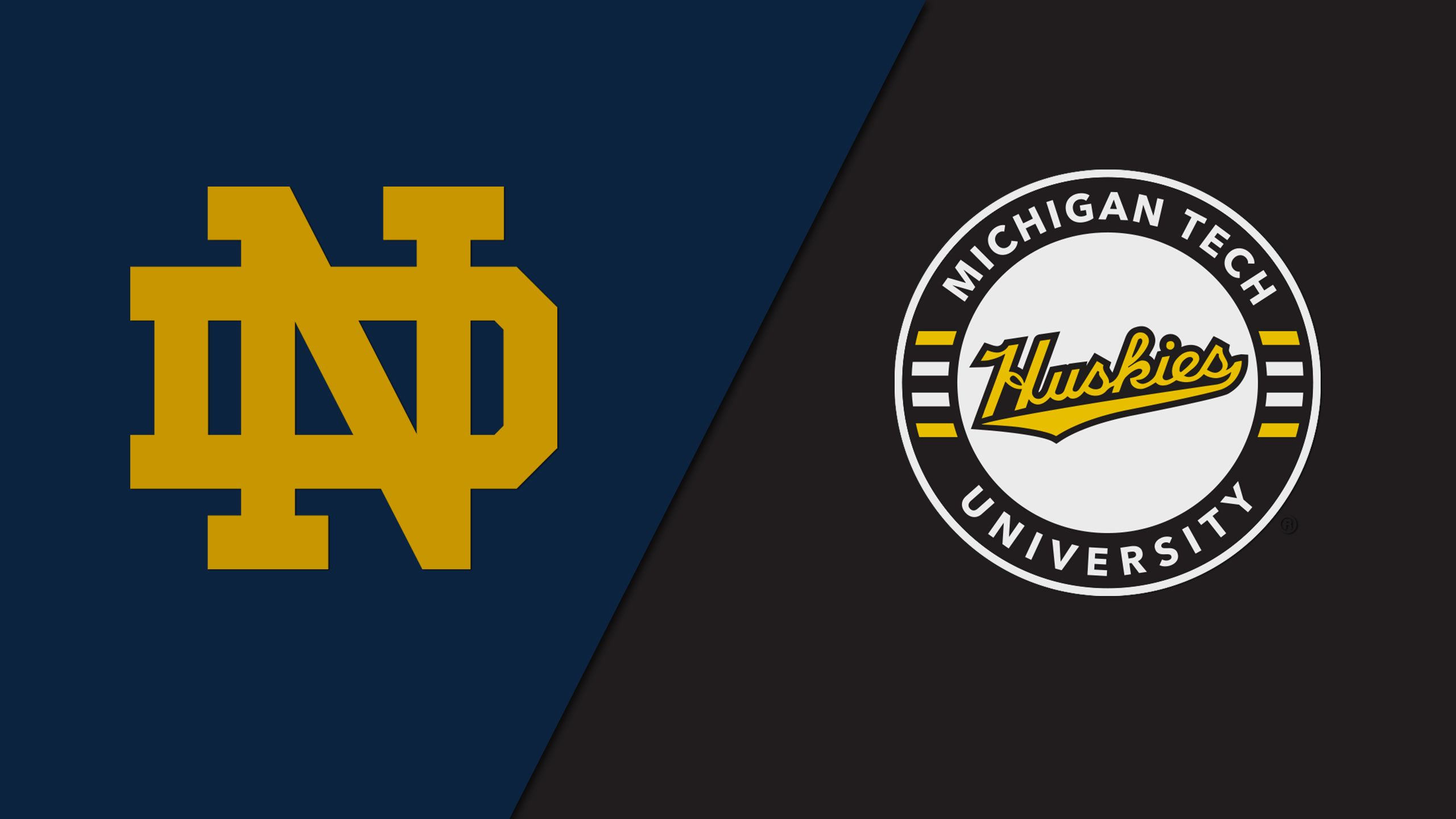 #1 Notre Dame vs. #4 Michigan Tech (East Regional Semifinal #1) (NCAA Men's Hockey Championship)