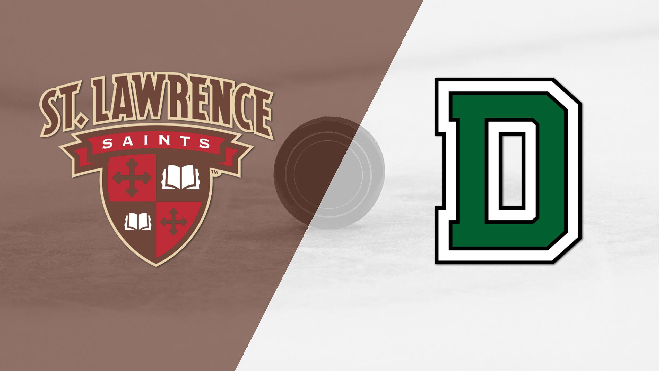 St. Lawrence vs. Dartmouth (W Hockey)