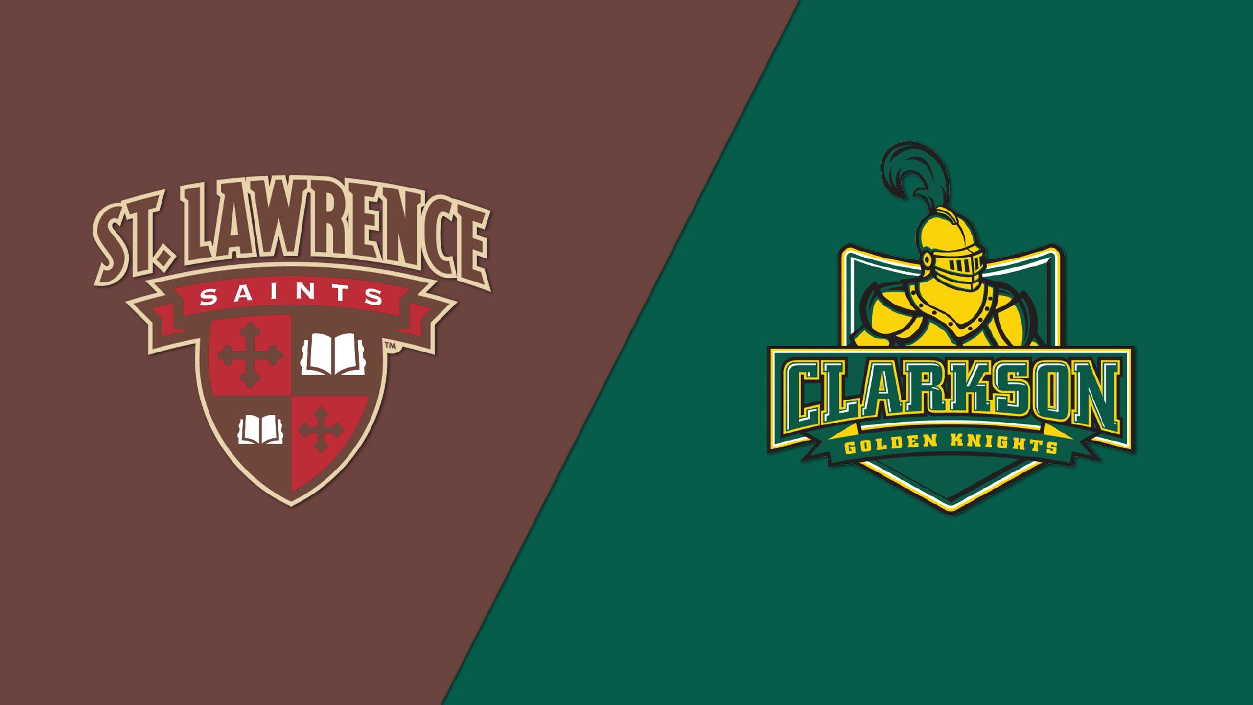 #8 St. Lawrence vs. #2 Clarkson (Semifinal #1) (ECAC Women's Hockey Championship)