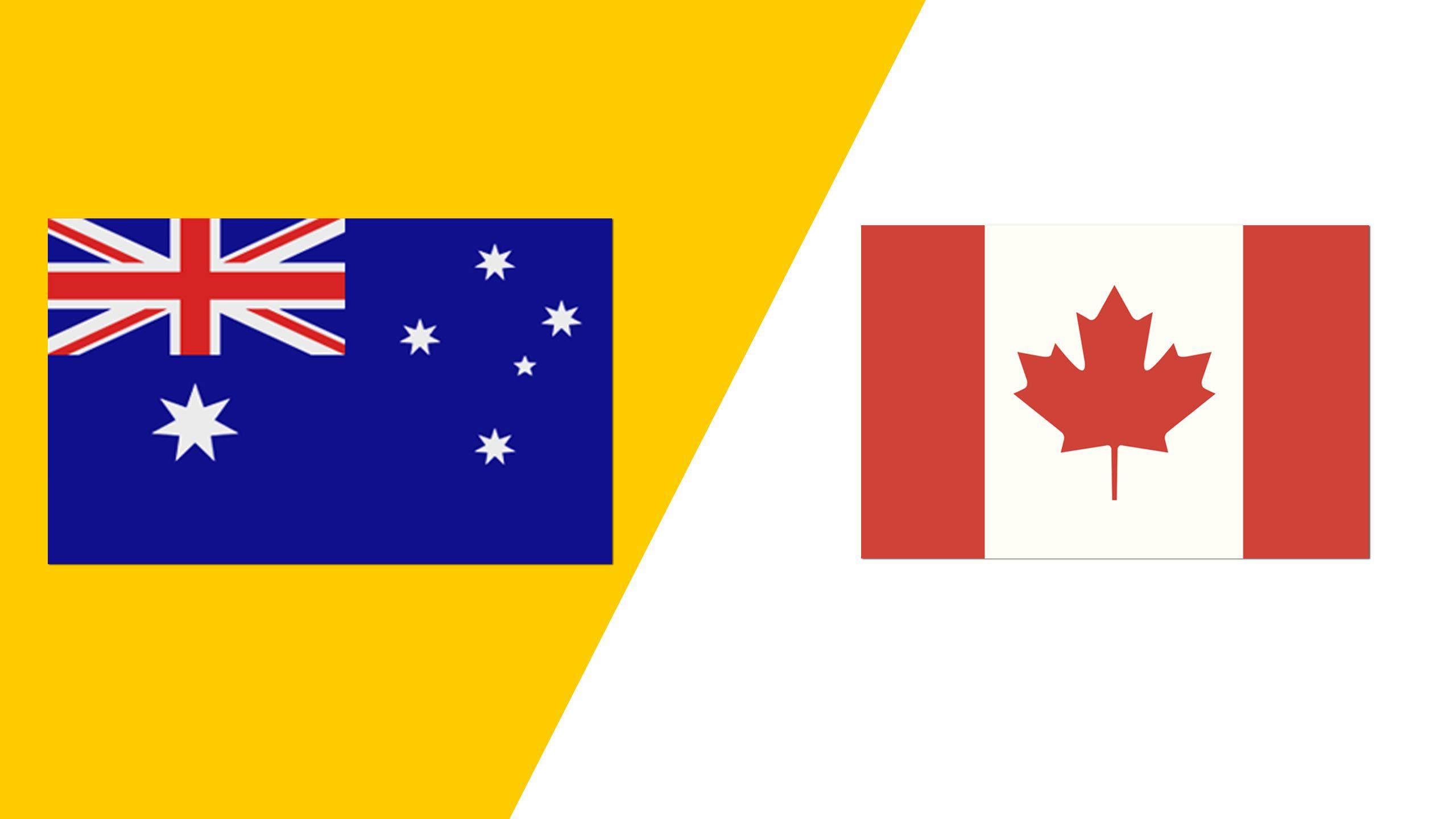 Australia vs. Canada (2018 FIL World Lacrosse Championships)