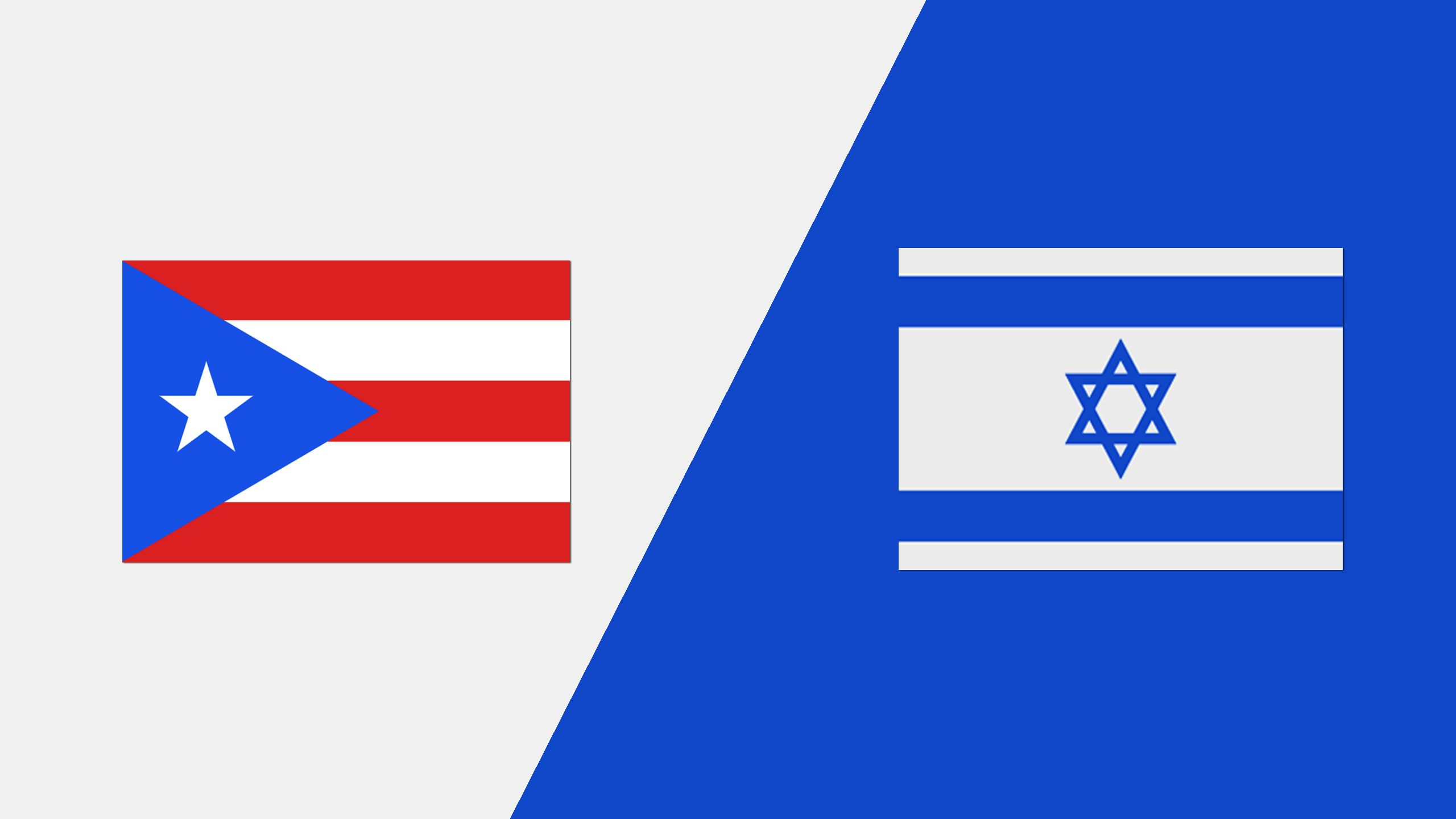 Puerto Rico vs. Israel (2018 FIL World Lacrosse Championships)