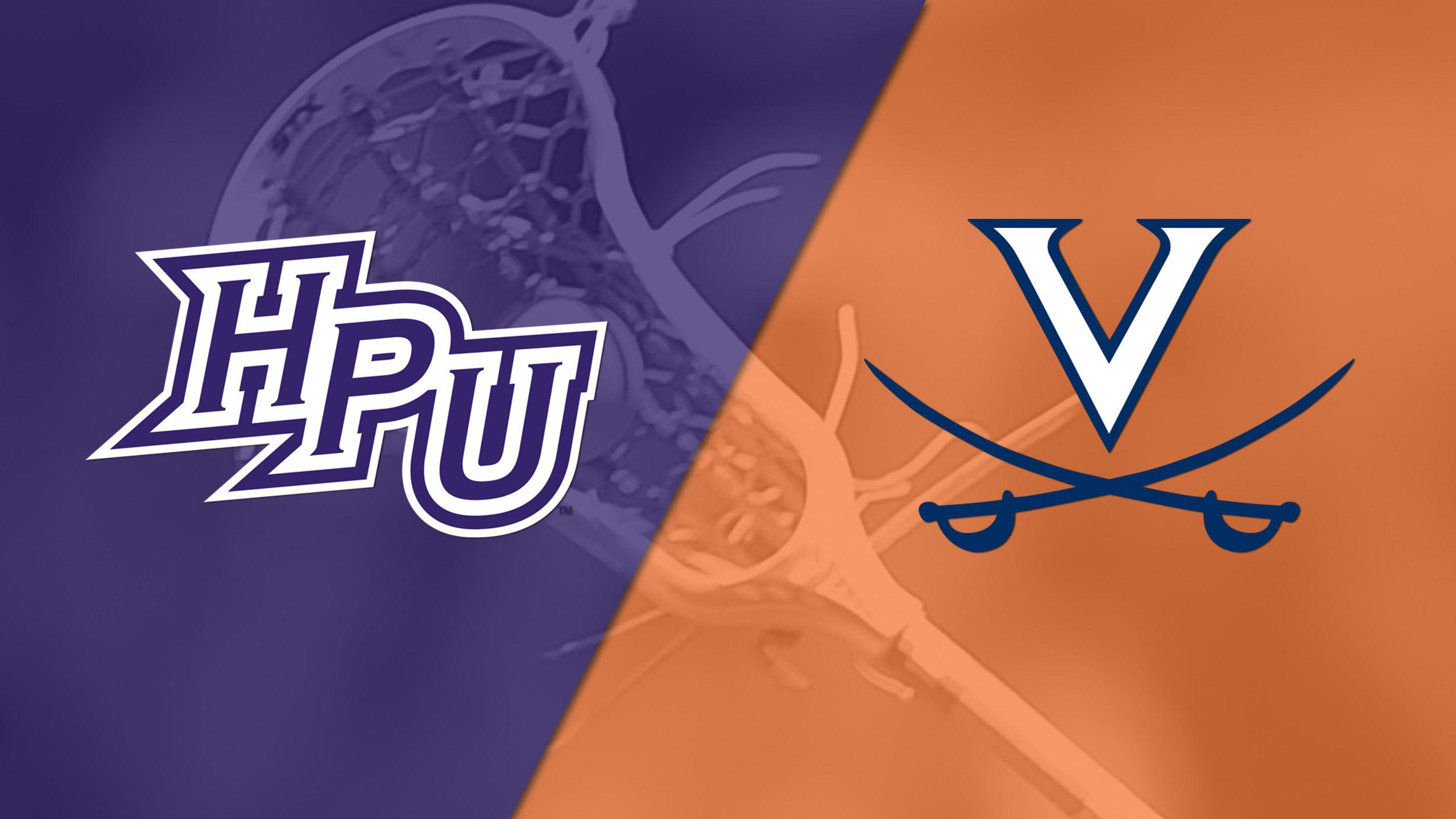 High Point vs. #9 Virginia (M Lacrosse)