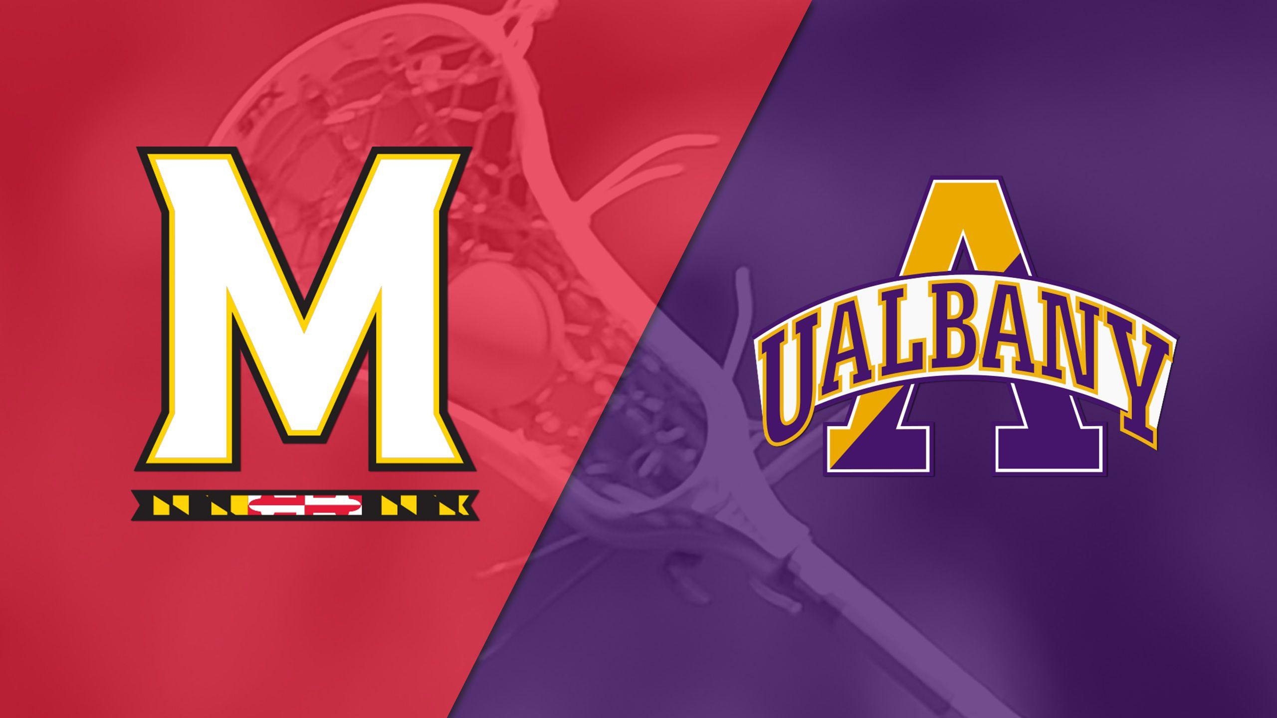 #3 Maryland vs. #5 Albany (M Lacrose)