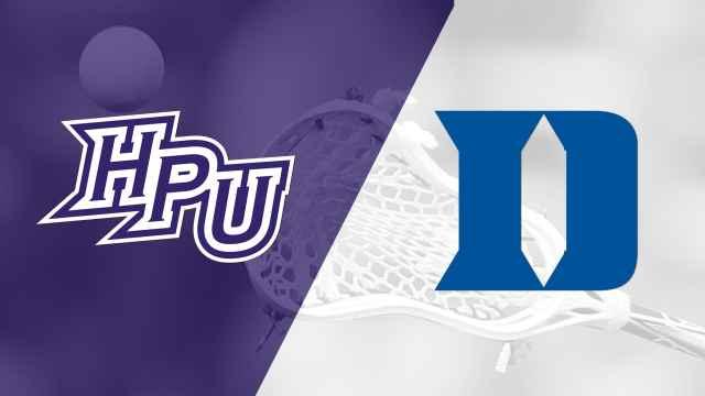 High Point vs. #1 Duke (M Lacrosse)