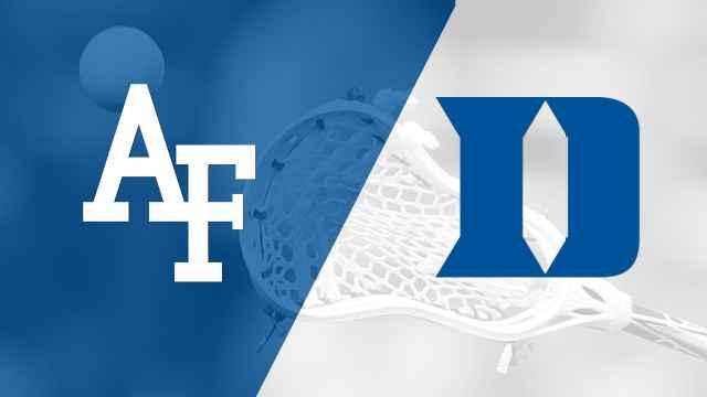 Air Force vs. #1 Duke (M Lacrosse)