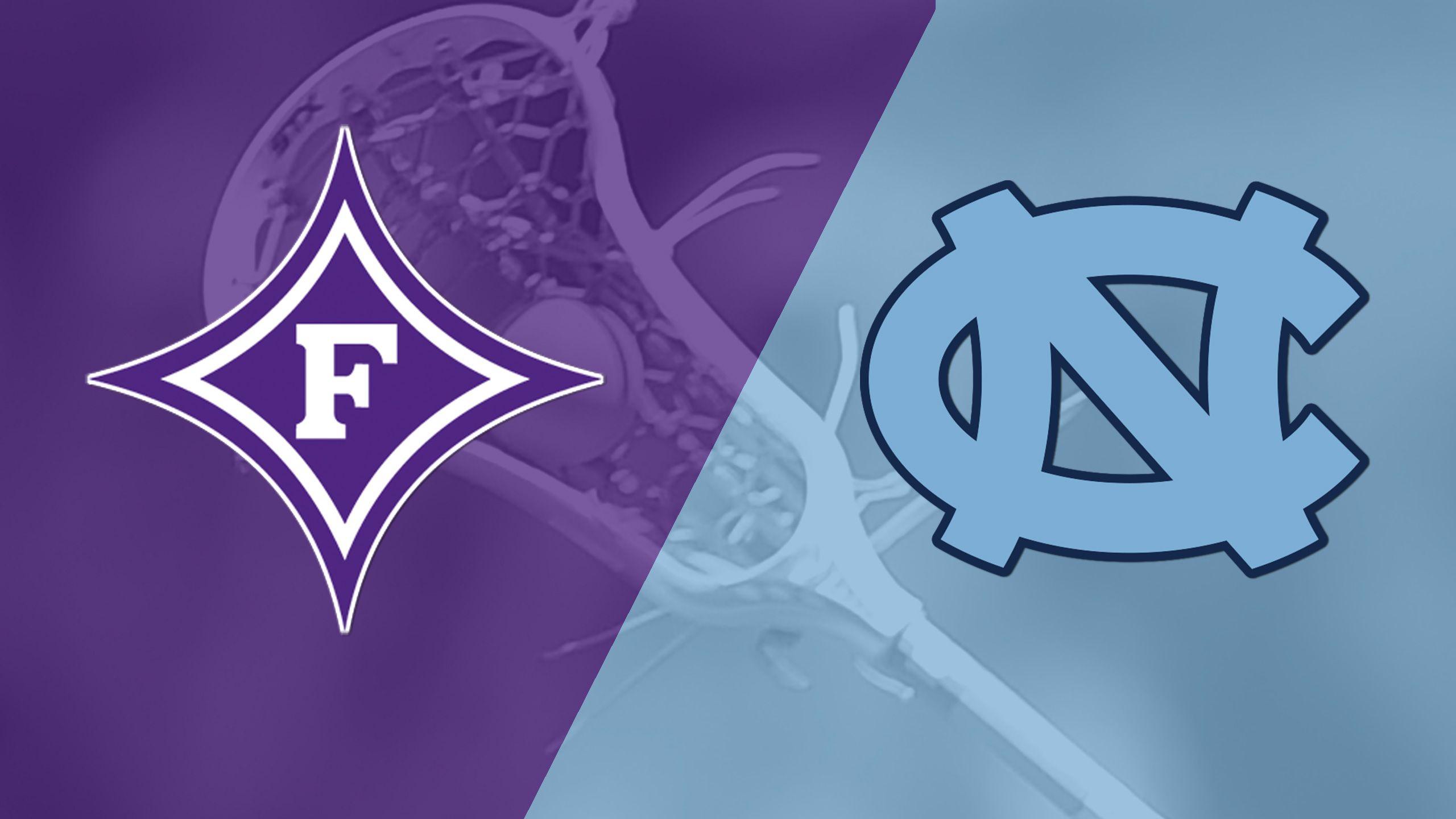 Furman vs. #9 North Carolina (M Lacrosse)