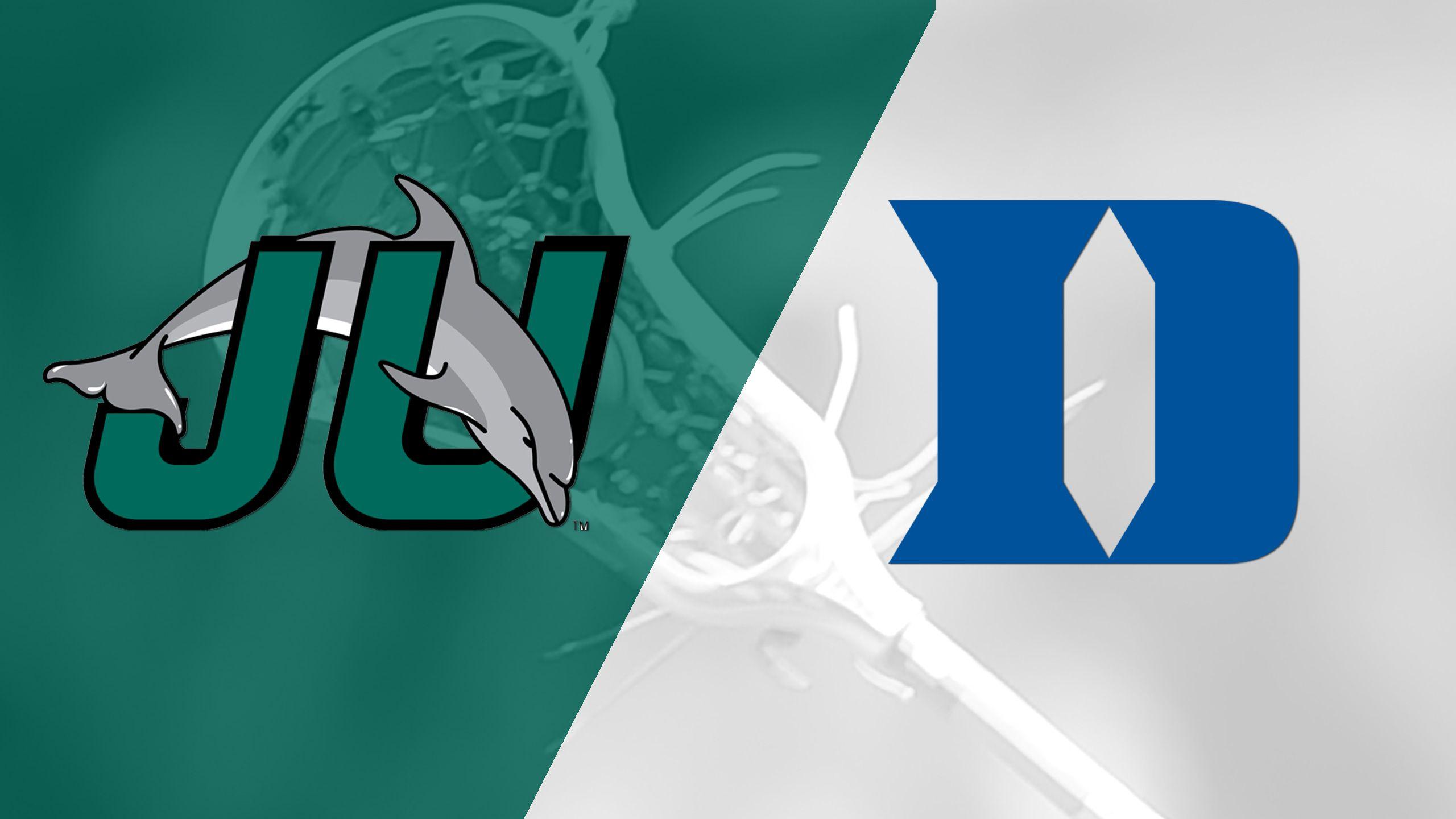 Jacksonville vs. #1 Duke (M Lacrosse)