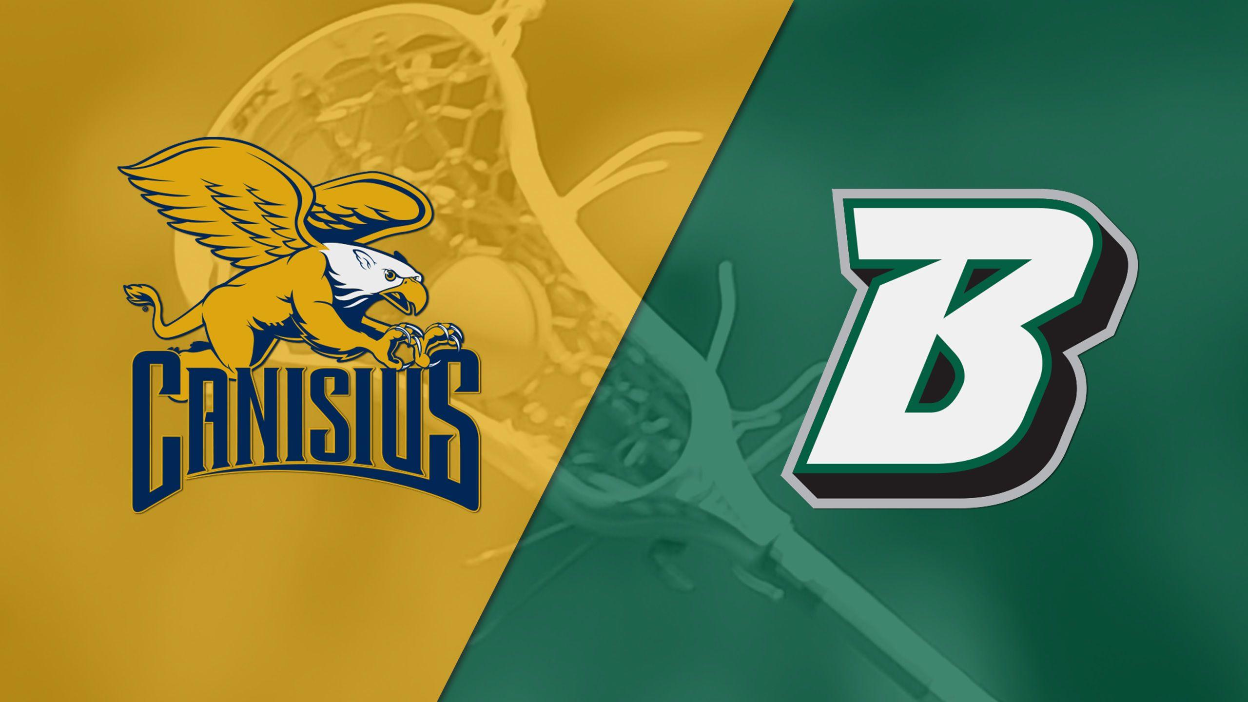 Canisius vs. Binghamton (M Lacrosse)