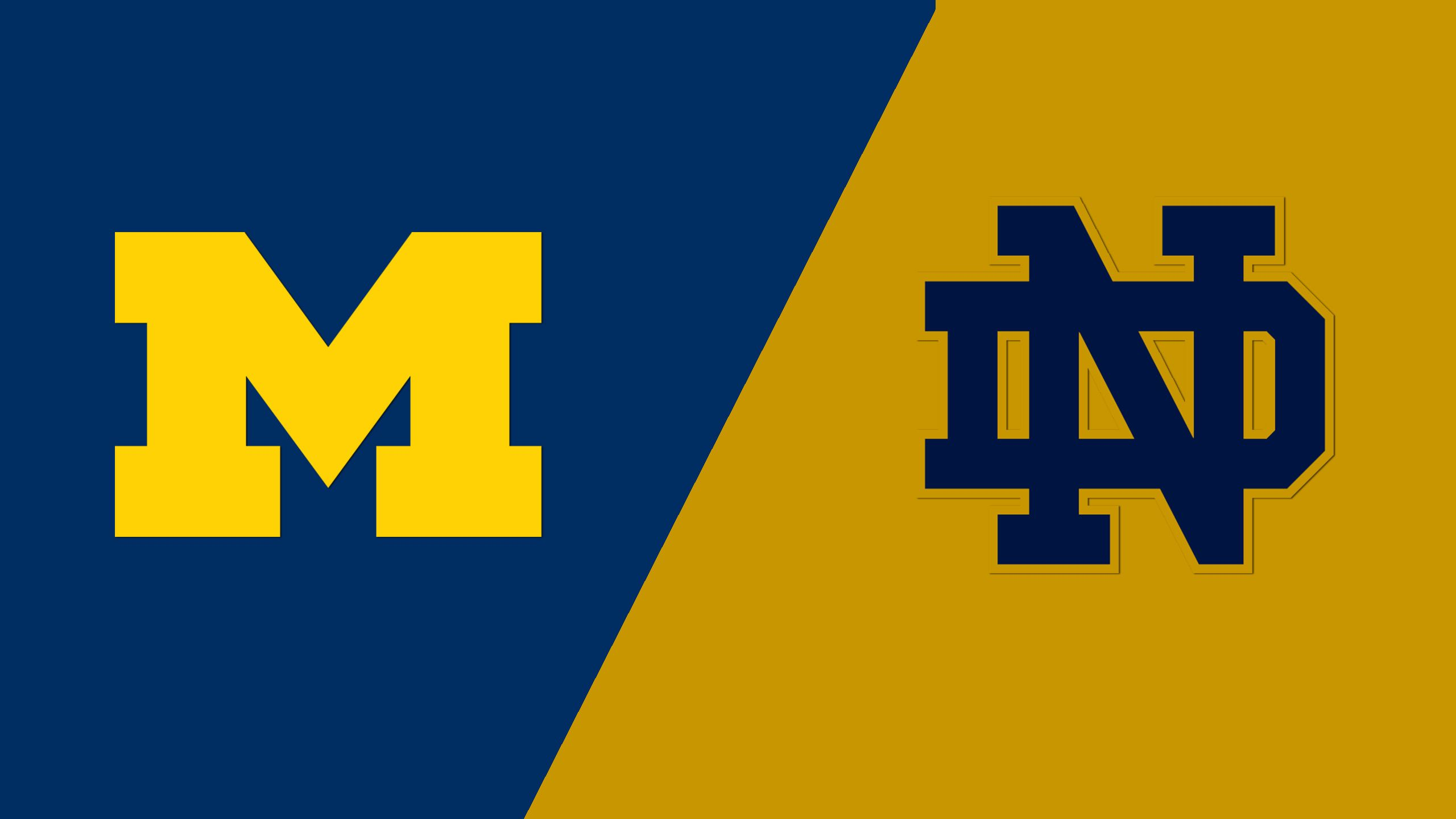 Michigan vs. #4 Notre Dame (M Lacrosse)