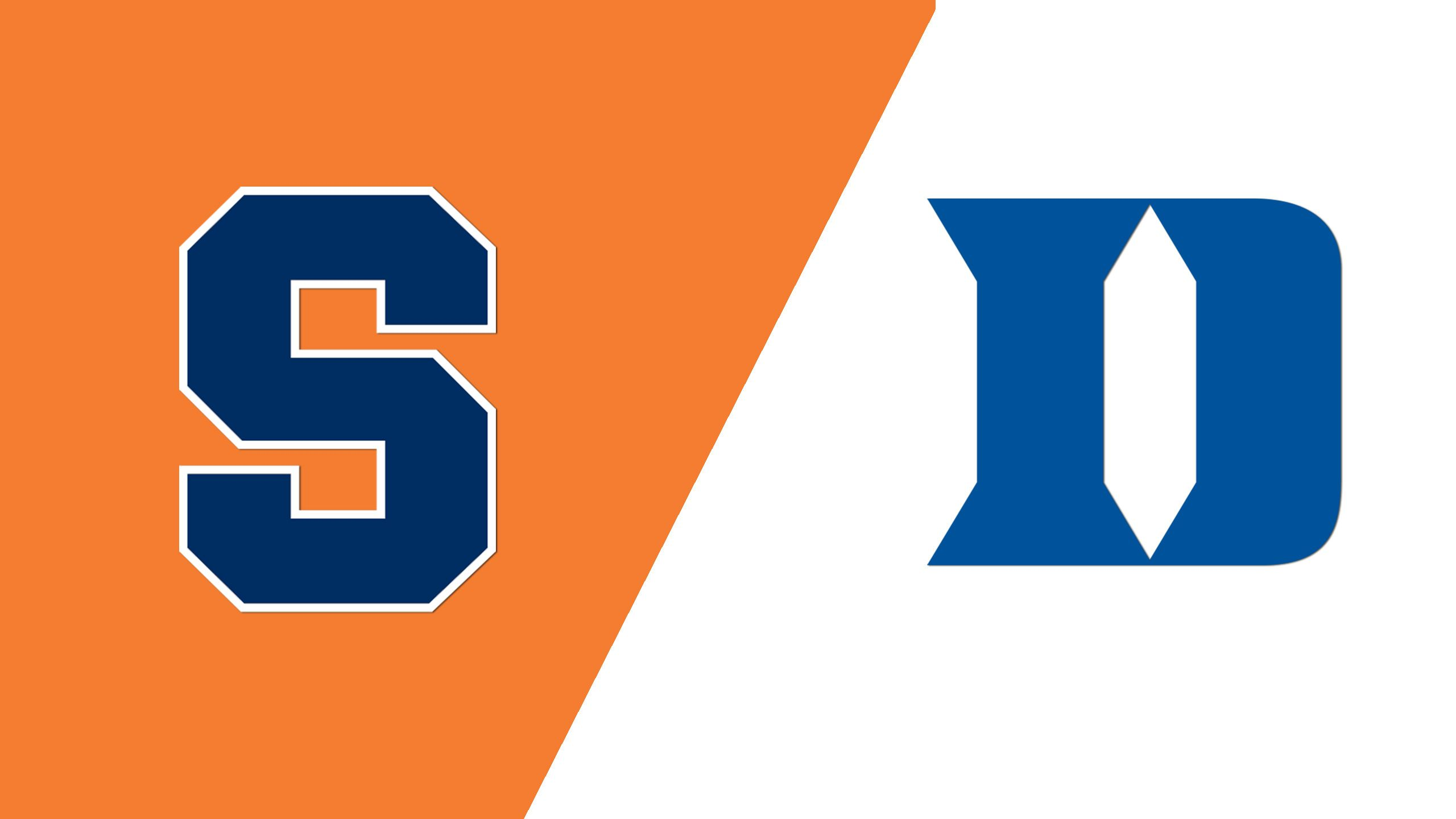 #15 Syracuse vs. #3 Duke (M Lacrosse)