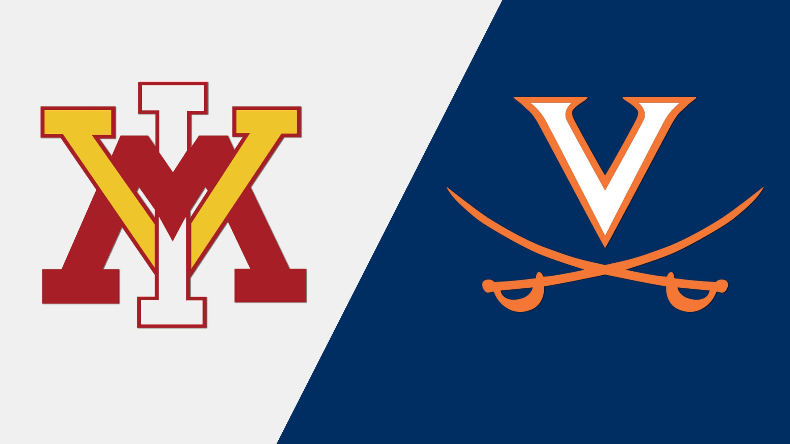 VMI vs. #10 Virginia (M Lacrosse)