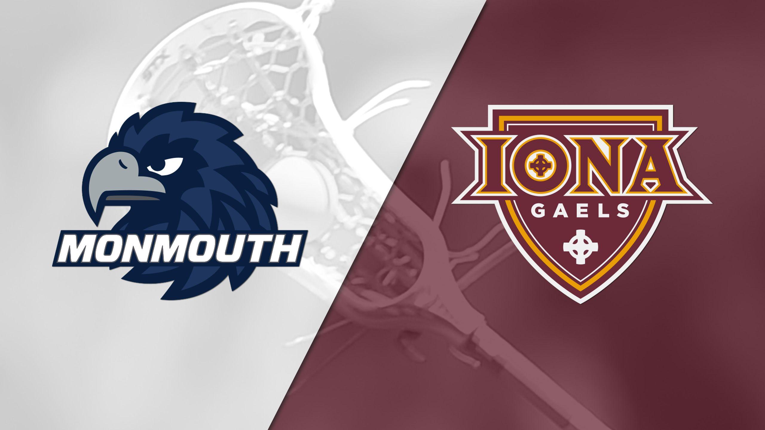 Monmouth vs. Iona (W Lacrosse)
