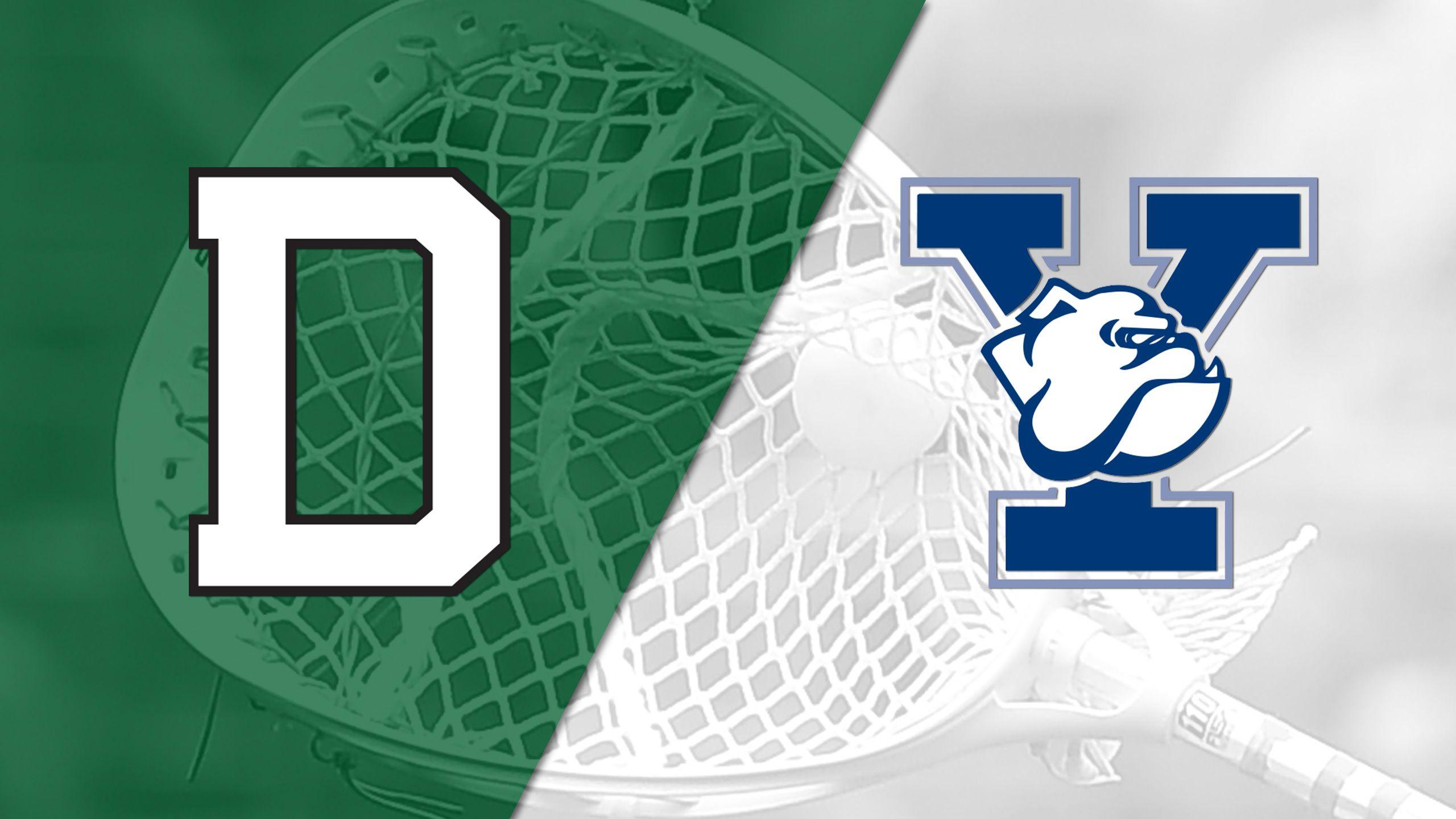 Dartmouth vs. Yale (W Lacrosse)
