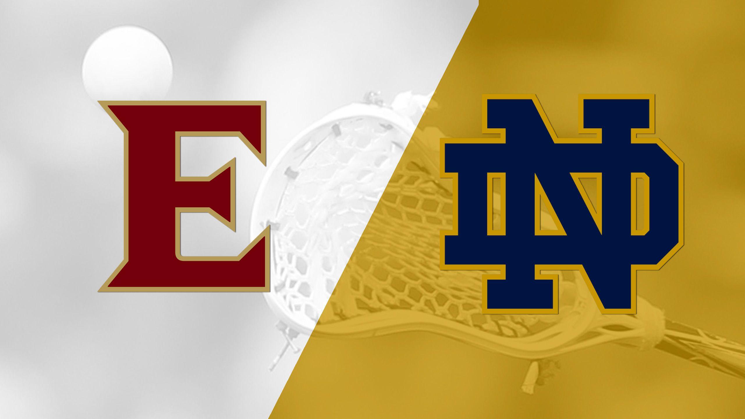 Elon vs. #17 Notre Dame (W Lacrosse)
