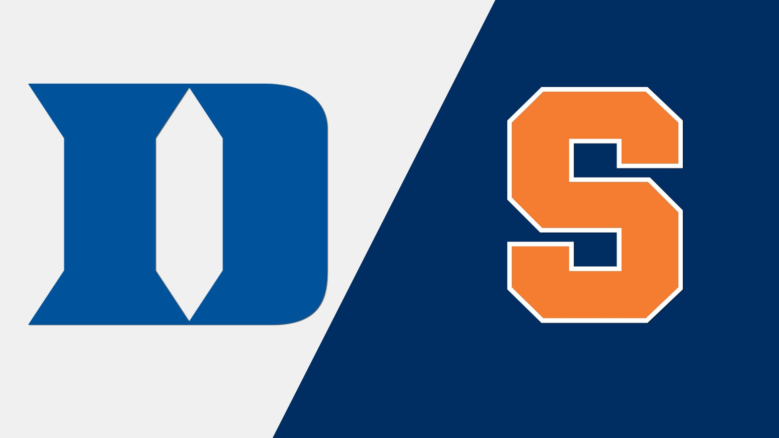 #20 Duke vs. #12 Syracuse (W Lacrosse)