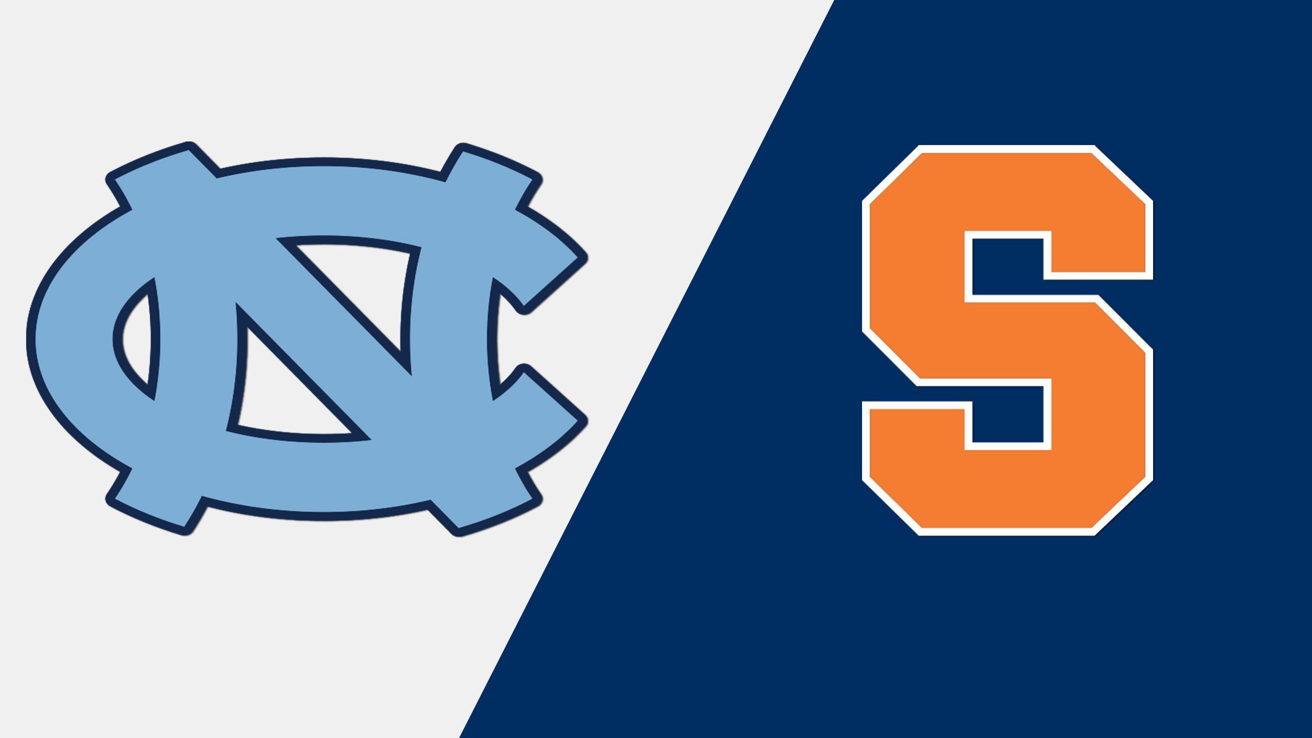 #5 North Carolina vs. #16 Syracuse (W Lacrosse)