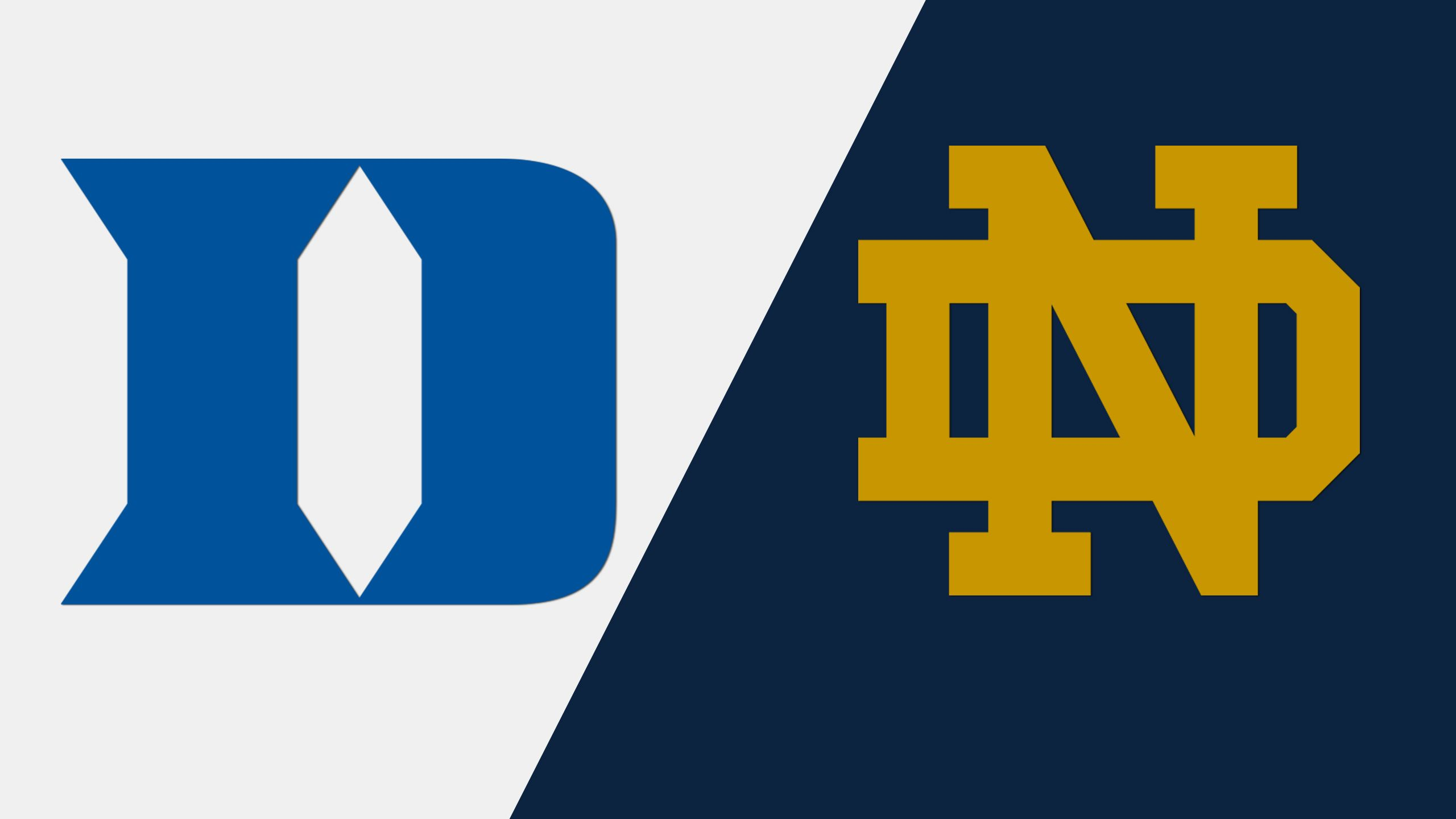 #19 Duke vs. Notre Dame (W Lacrosse)