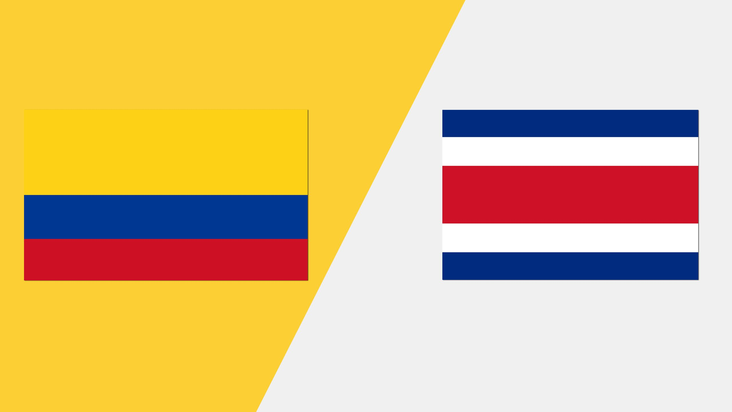 Colombia vs. Costa Rica (Grupo A)
