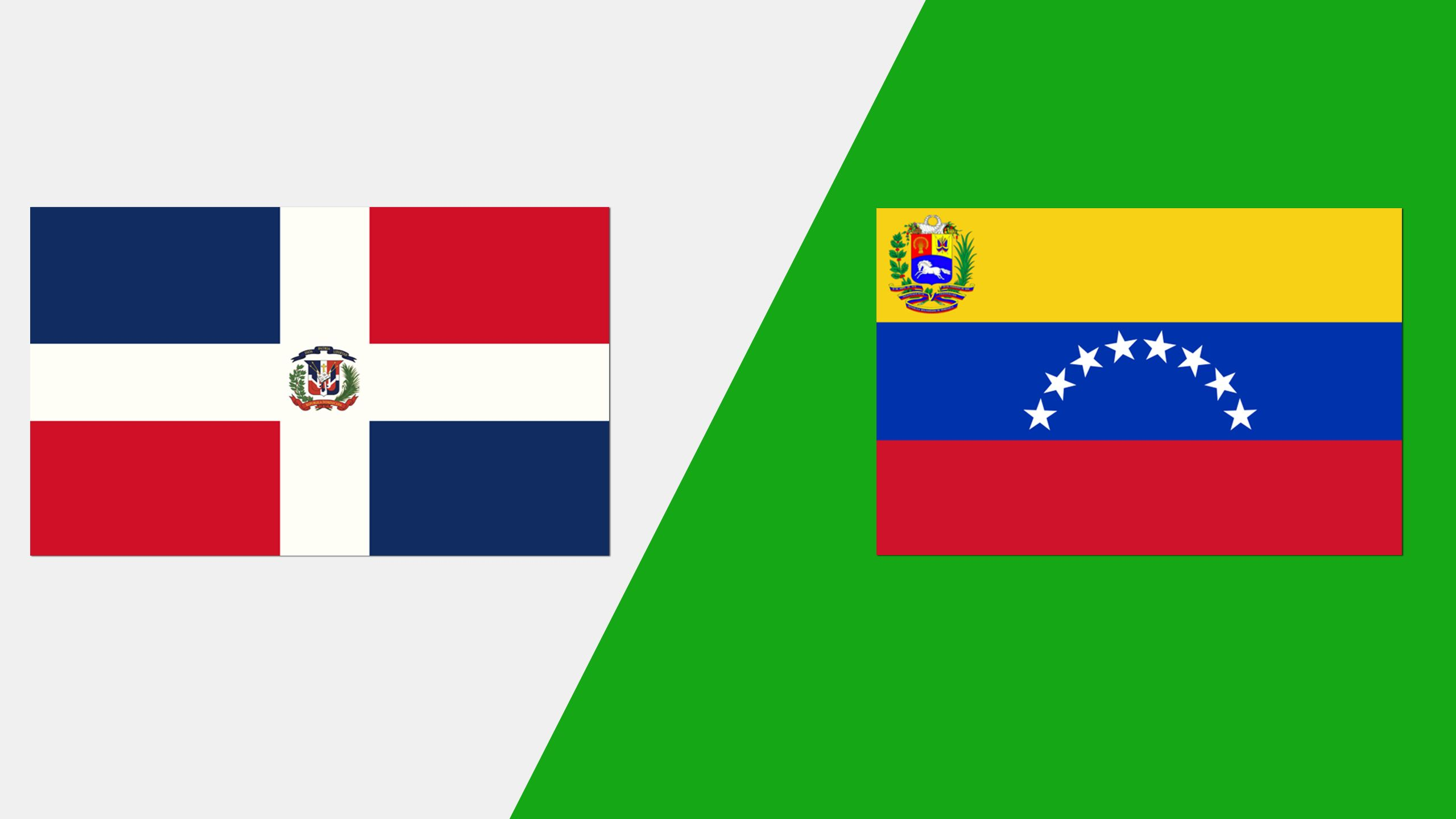 In Spanish - República Dominicana vs. Venezuela (Grupo A)