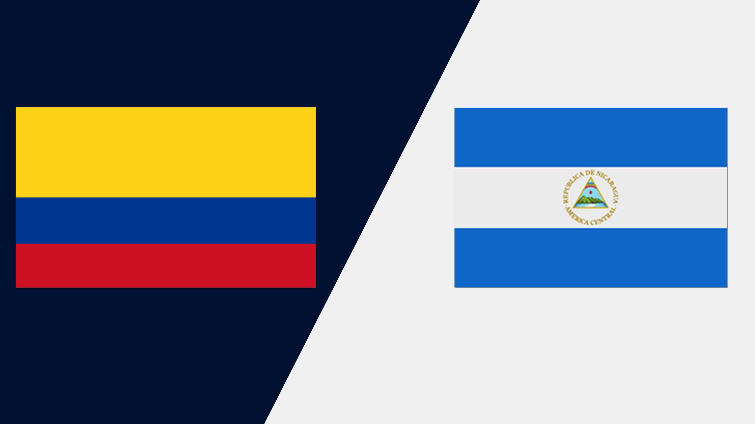 In Spanish - Colombia vs. Nicaragua