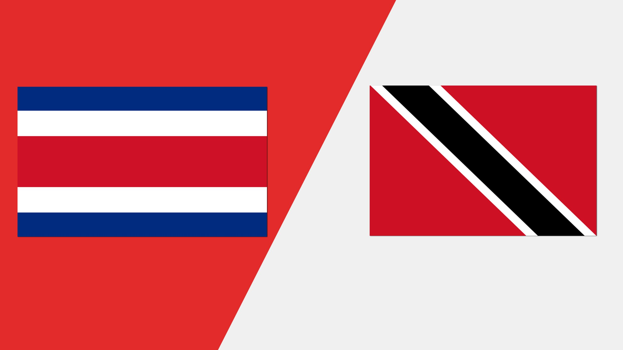 In Spanish - Costa Rica vs. Trinidad y Tobago (Grupo A)