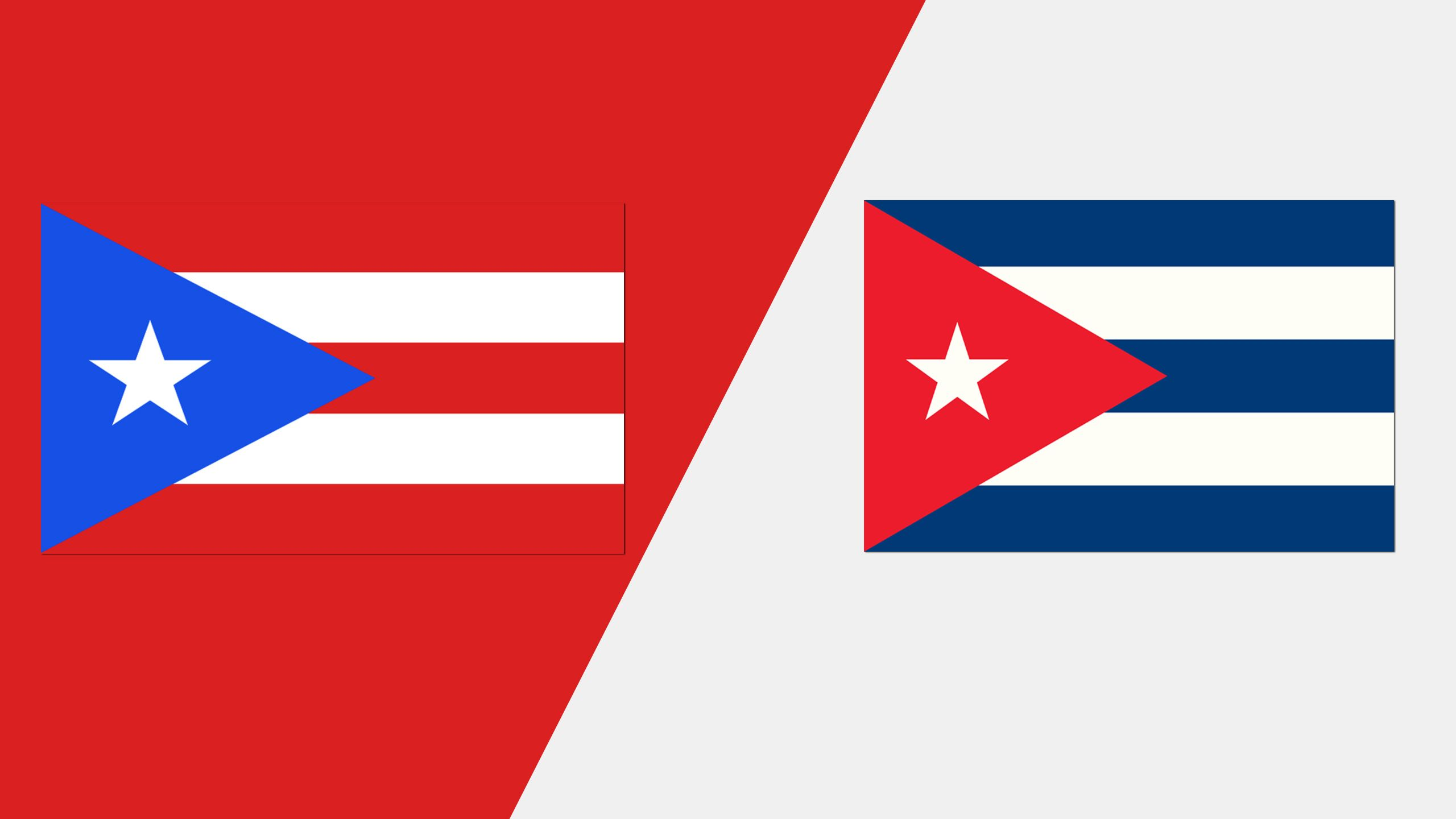 In Spanish - Puerto Rico vs. Cuba