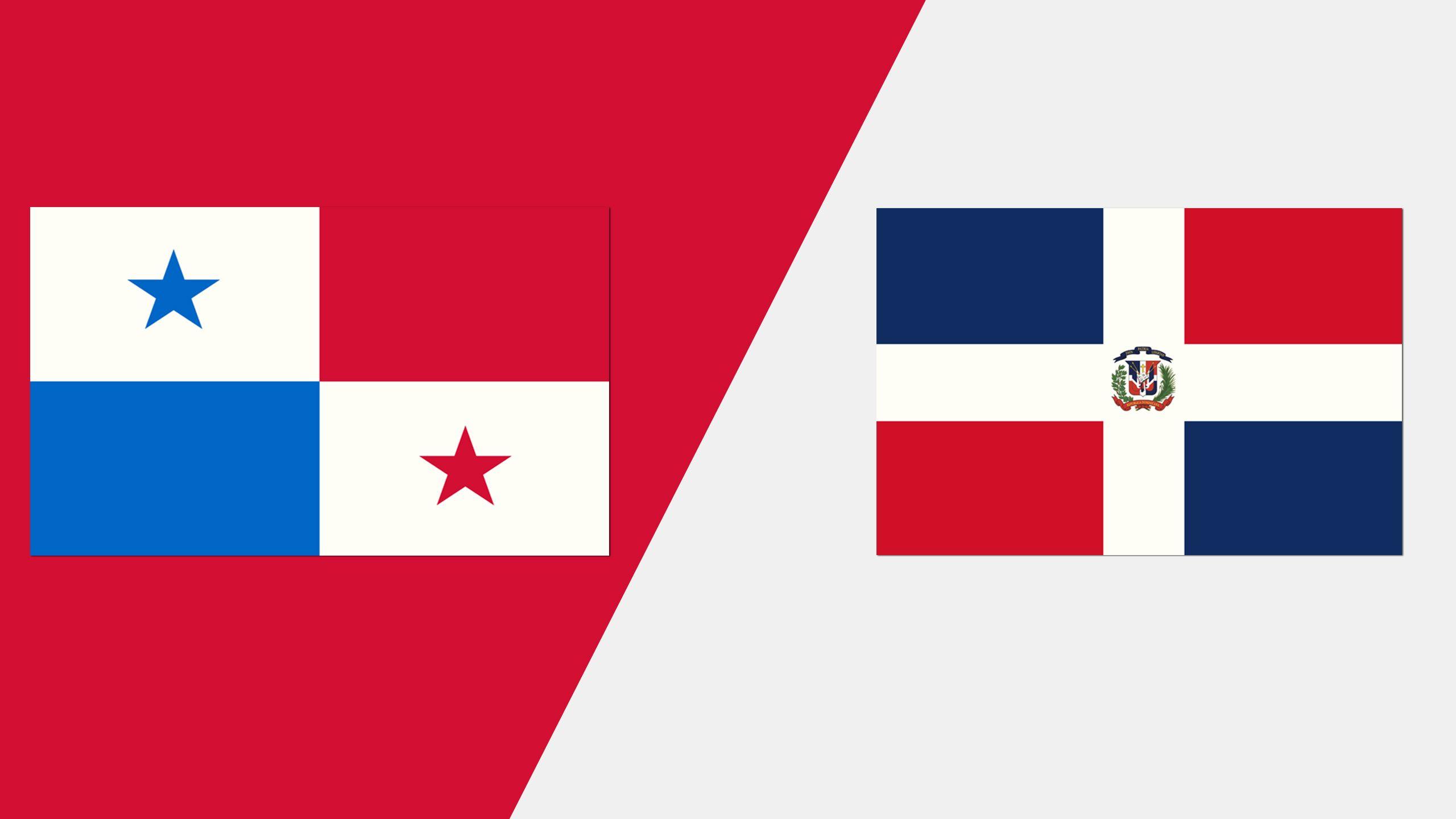 In Spanish - Panama vs. República Dominicana (Grupo A)