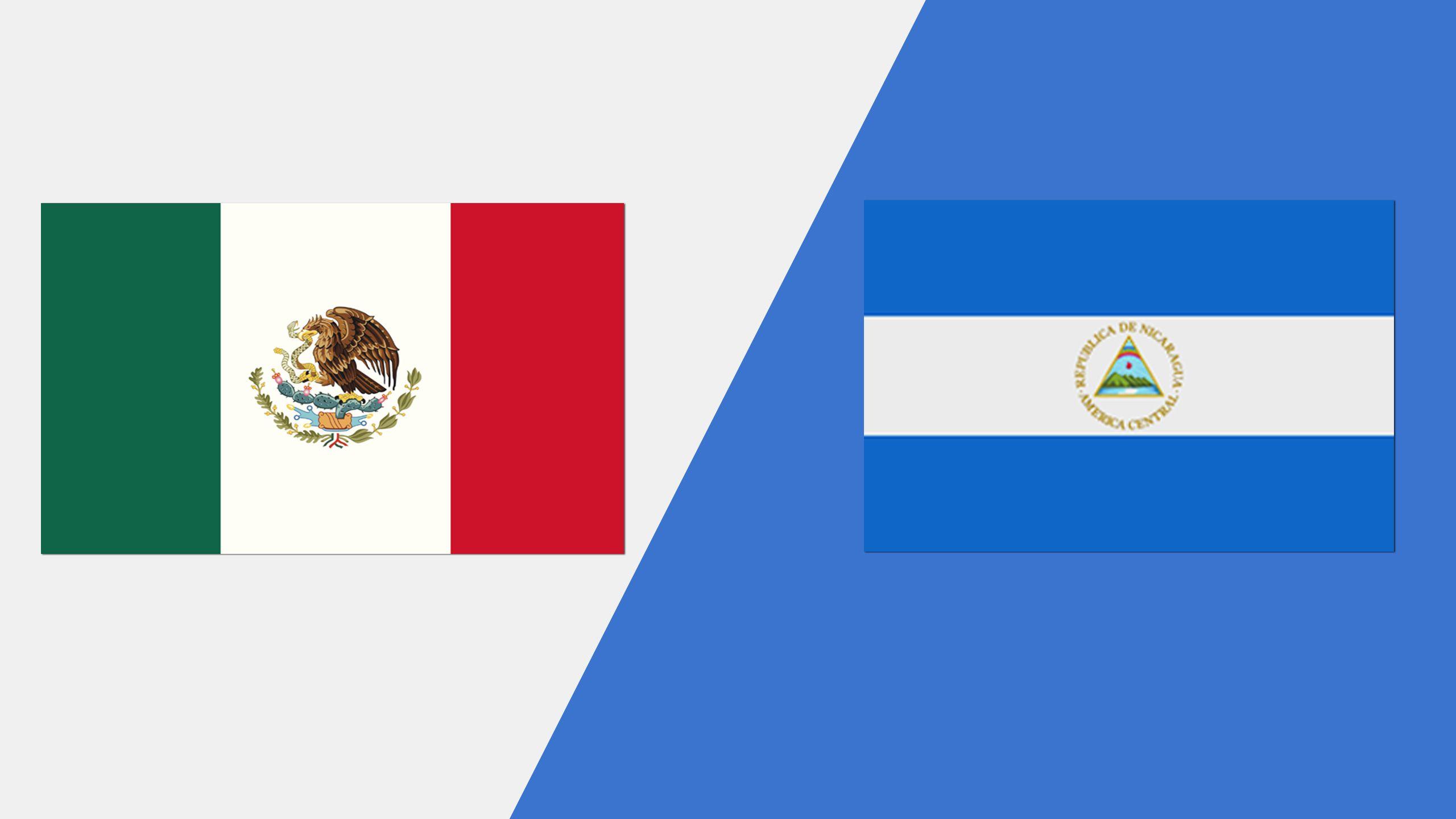 In Spanish - México vs. Nicaragua (Grupo A)