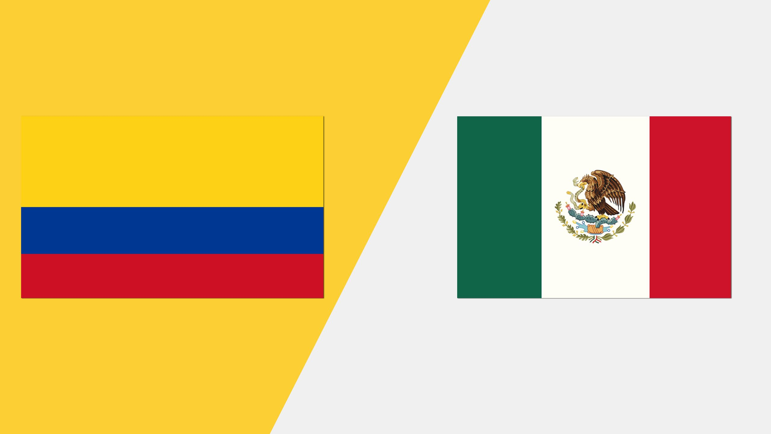 In Spanish - Colombia vs. México
