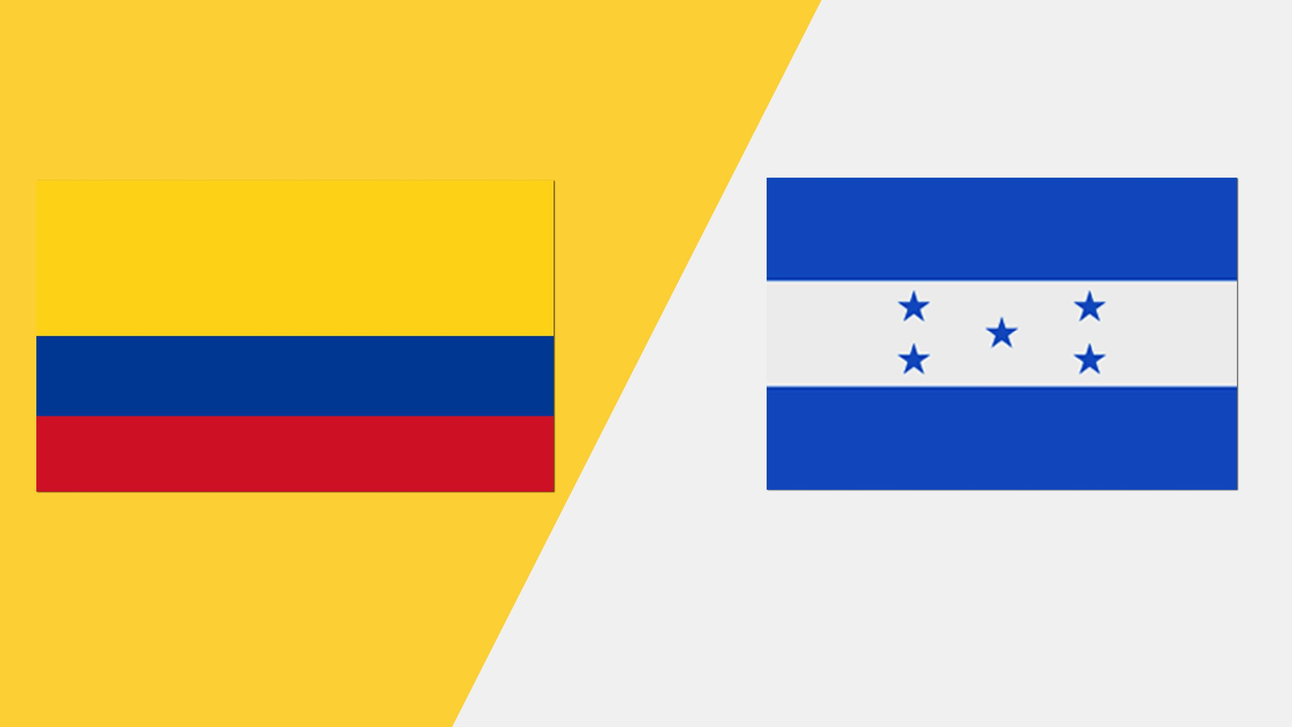 In Spanish - Colombia vs. Honduras (Grupo A)