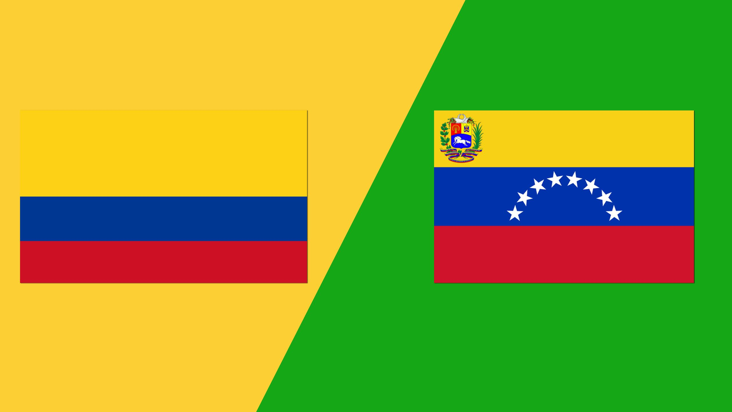 In Spanish - Colombia vs. Venezuela (Grupo A)