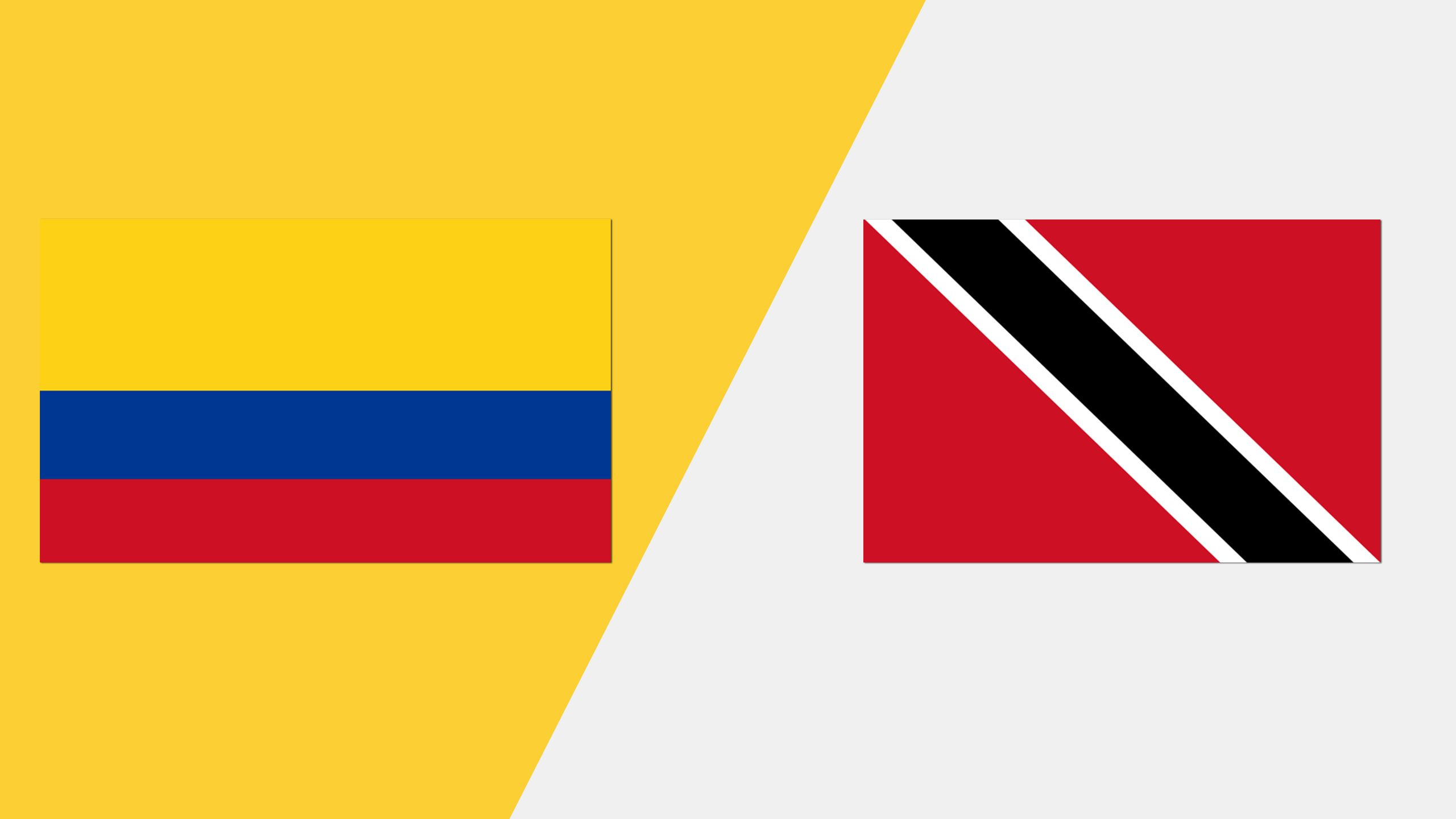 In Spanish - Colombia vs. Trinidad y Tobago (Grupo A)