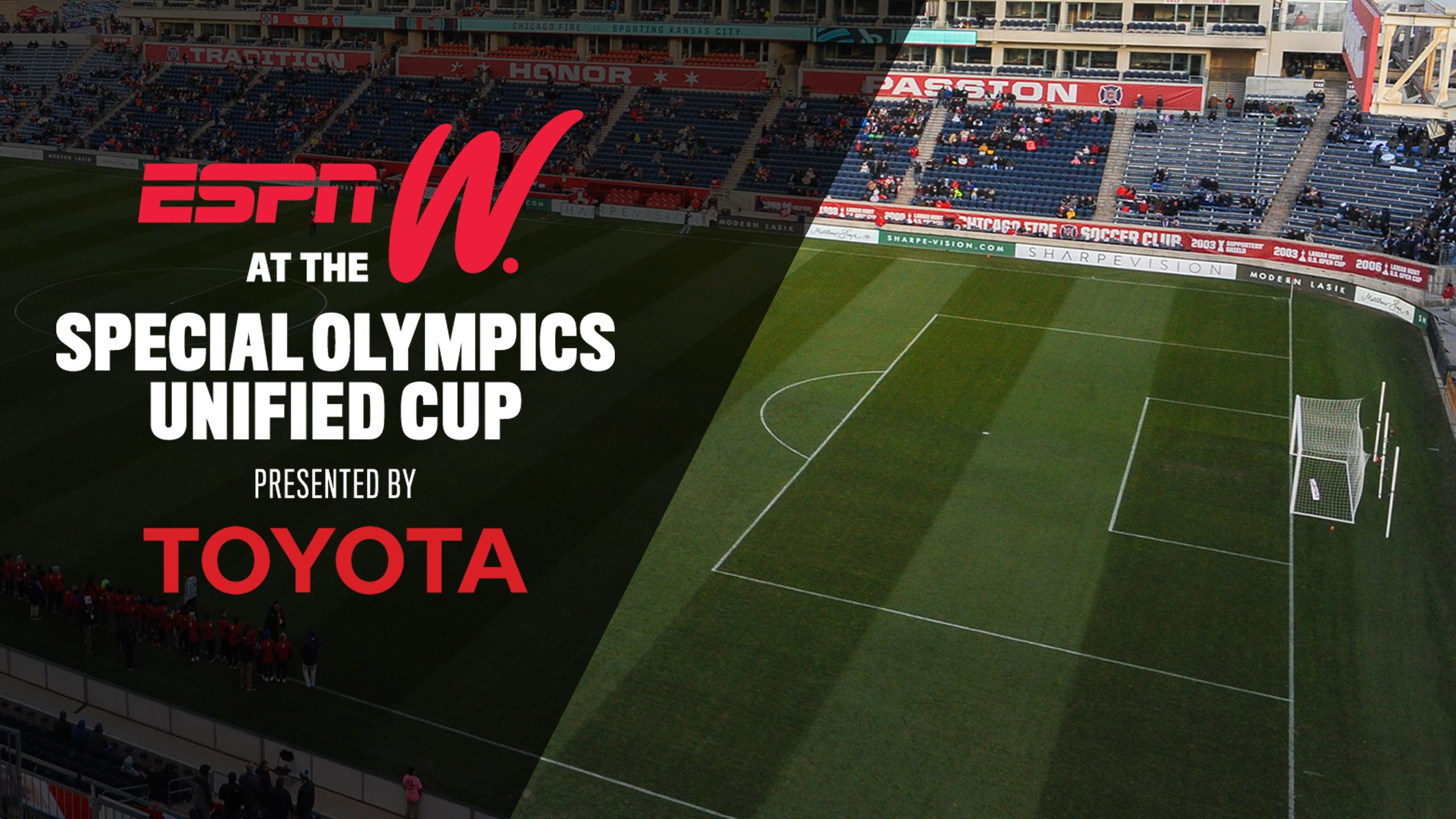 espnW at the Special Olympics Unified Cup presented by Toyota