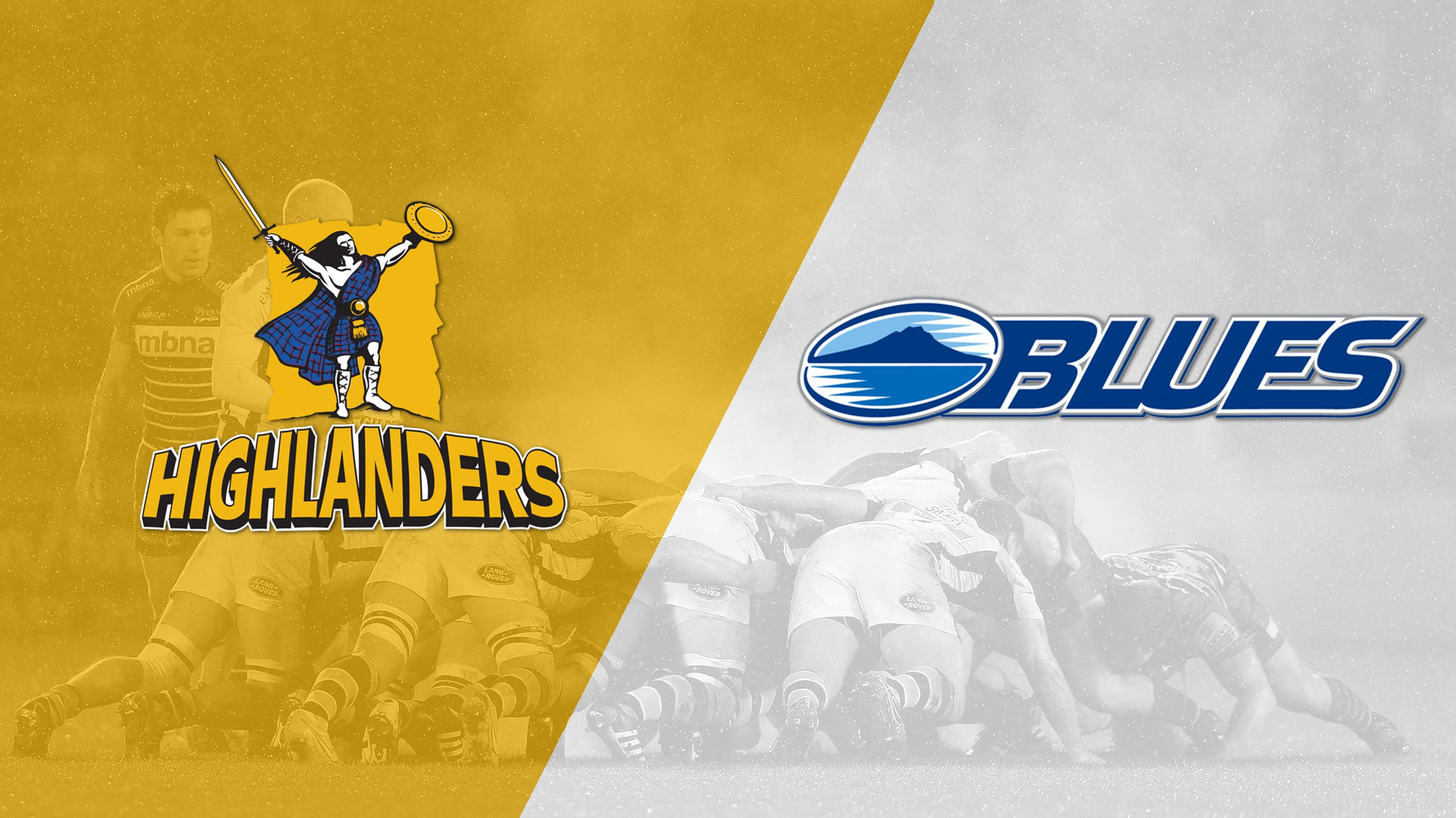 Highlanders vs. Blues (Round 2) (Super Rugby)