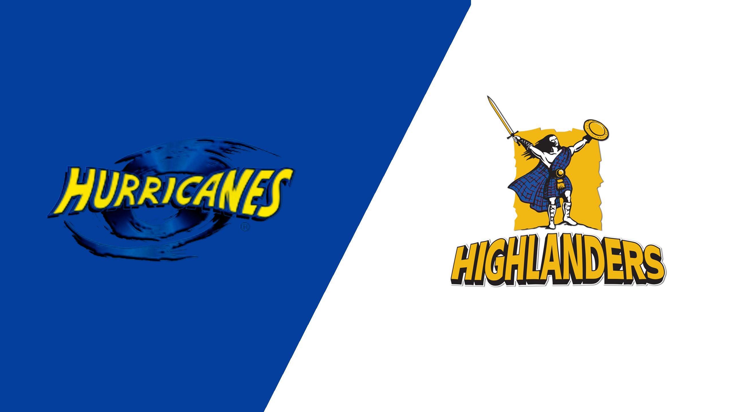Hurricanes vs. Highlanders (Super Rugby)