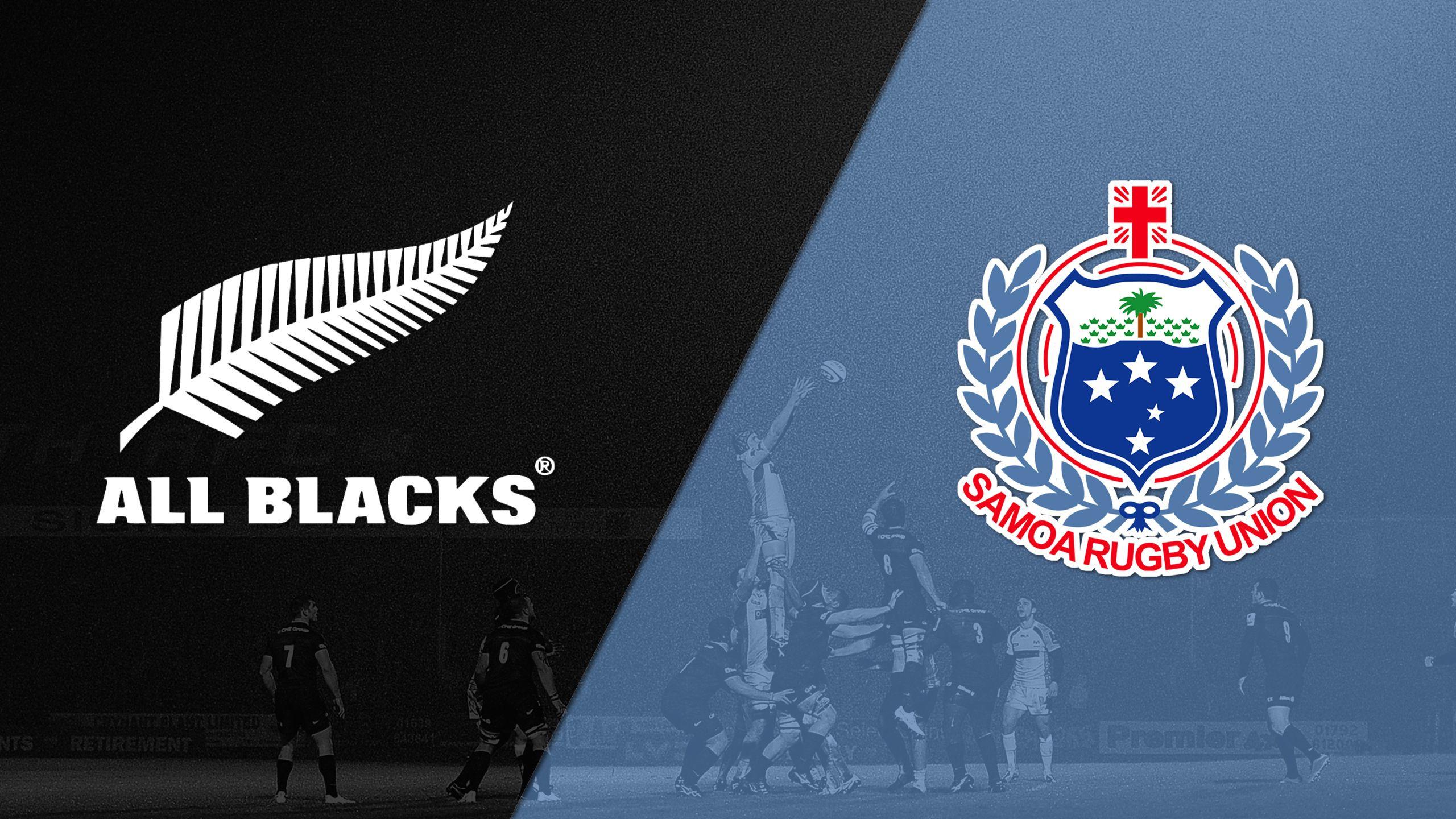 New Zealand vs. Samoa (World Rugby Sevens Series)