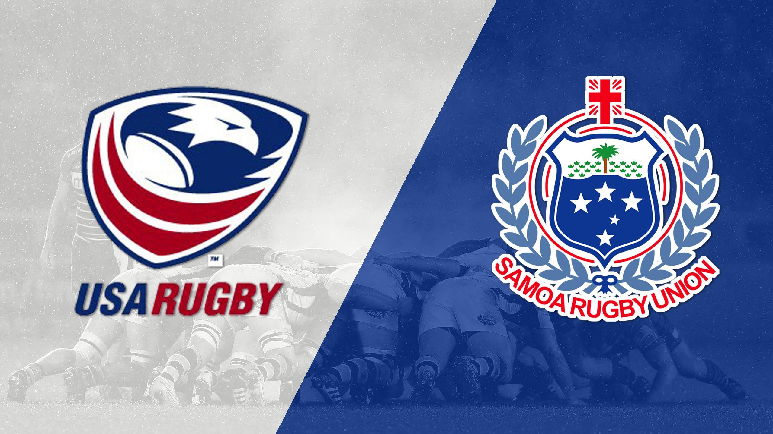 USA vs. Samoa (World Rugby Sevens Series)