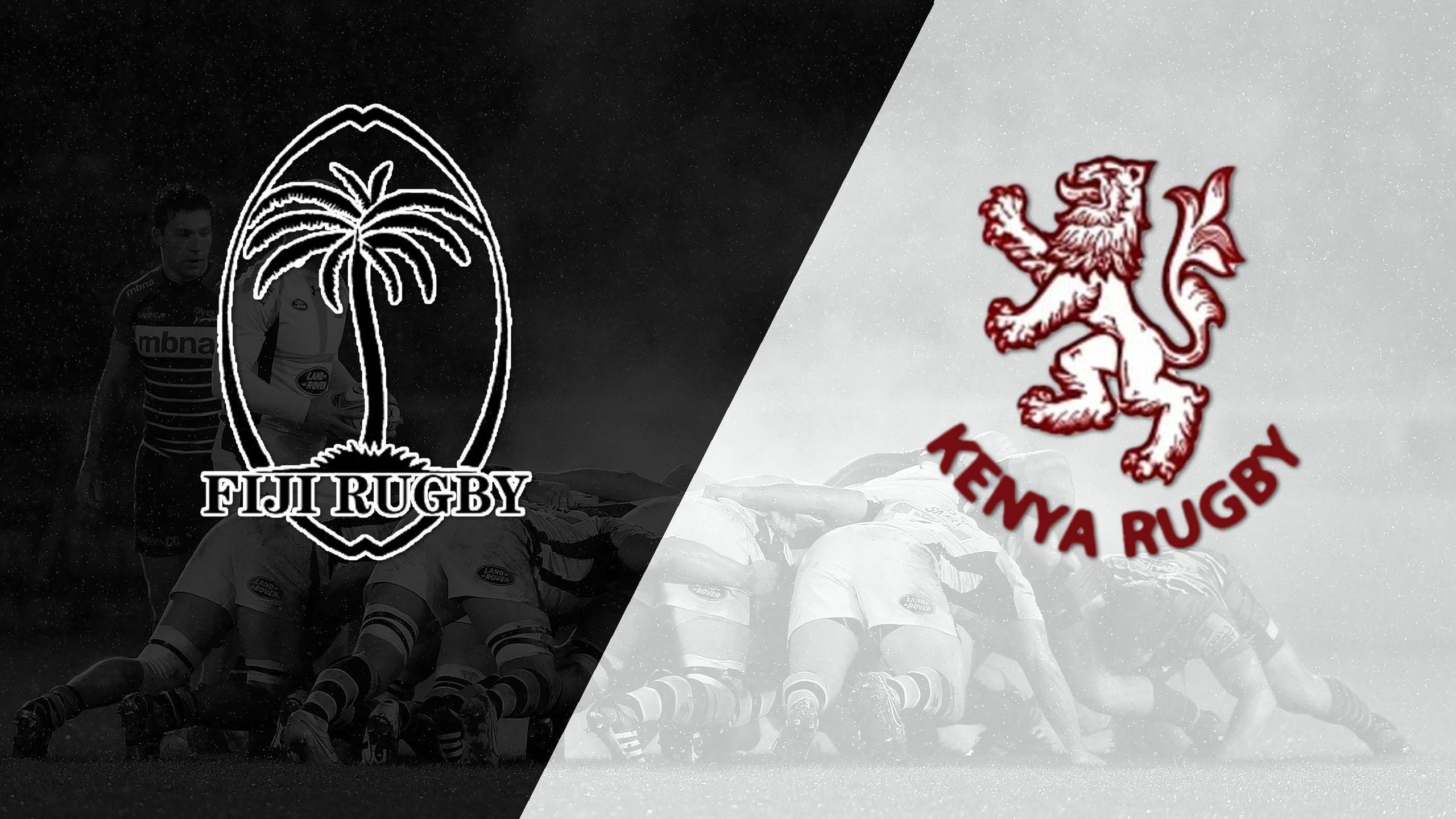 Fiji vs. Kenya (5th Place Semi Finals) (World Rugby Sevens Series)