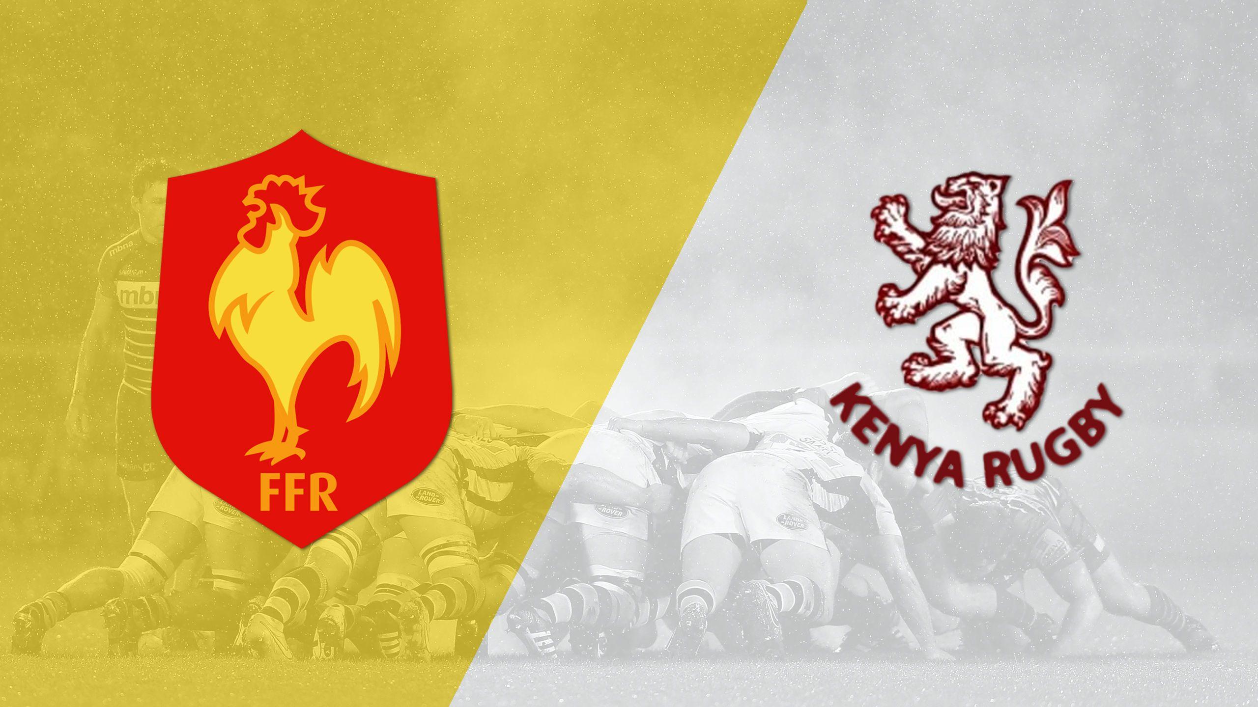 France vs. Kenya (World Rugby Sevens Series)