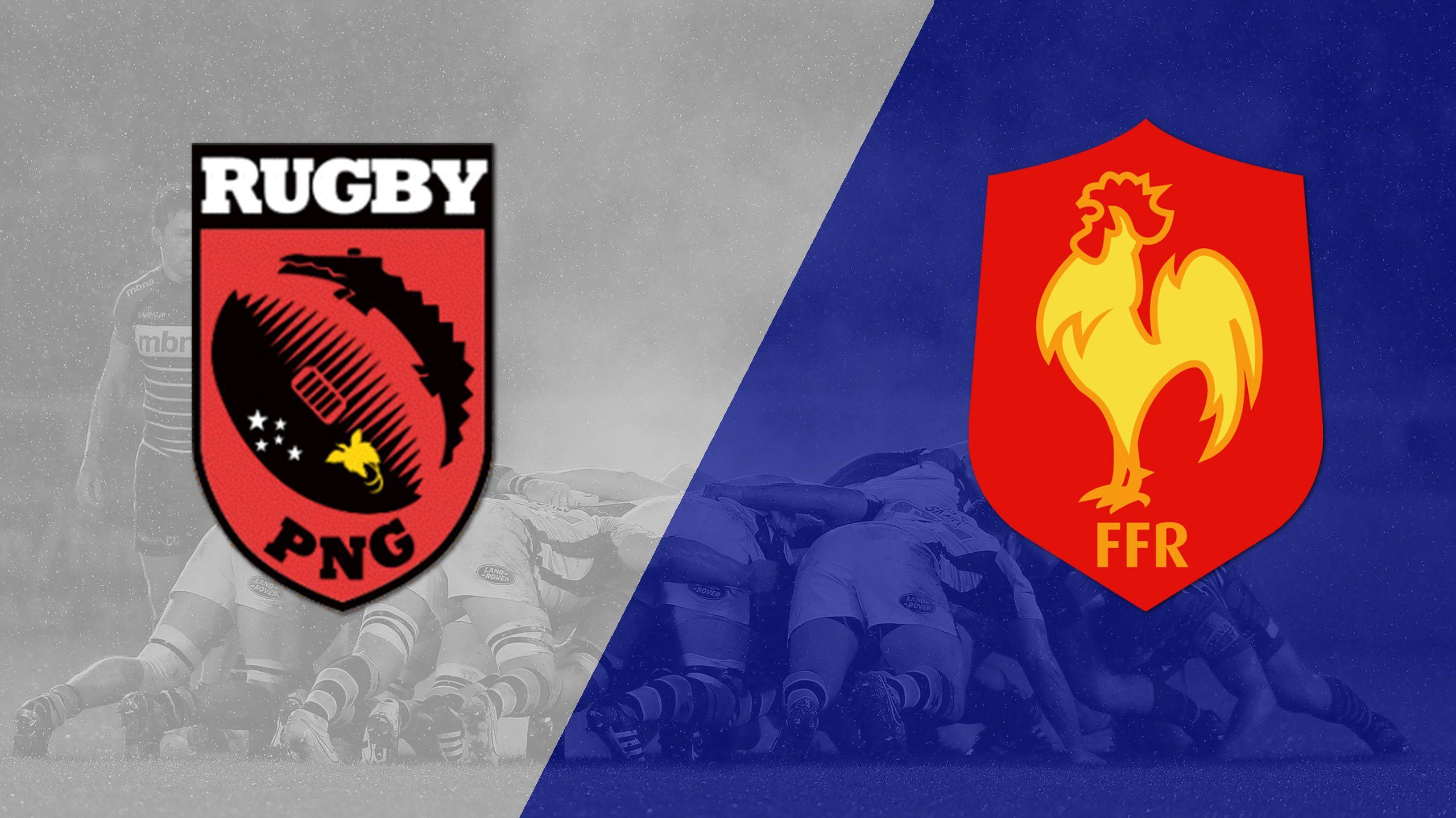 Papua New Guinea vs. France (Challenge Trophy Quarter Finals) (World Rugby Sevens Series)