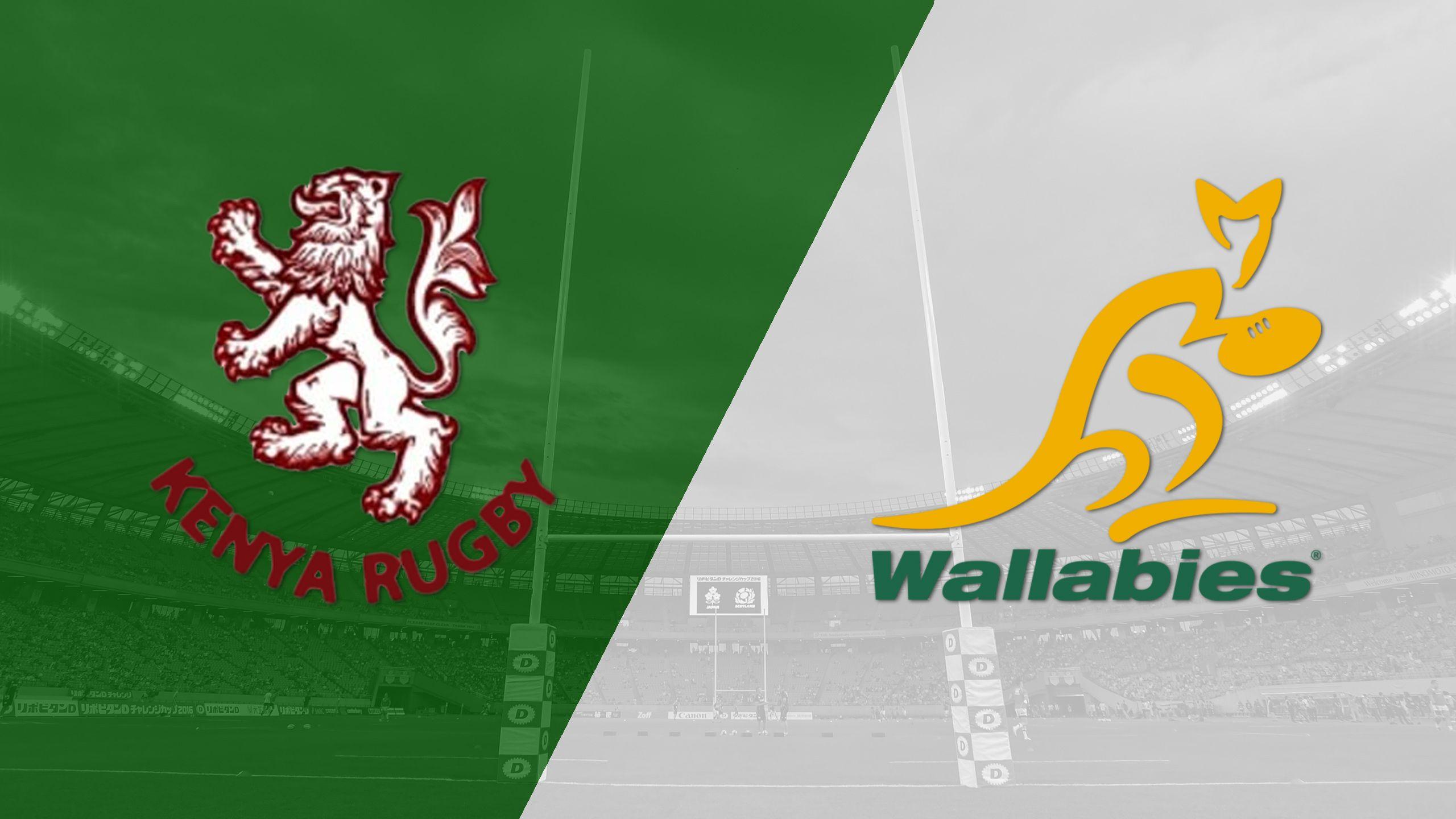 Kenya vs. Australia (Cup Quarter Finals) (World Rugby Sevens Series)