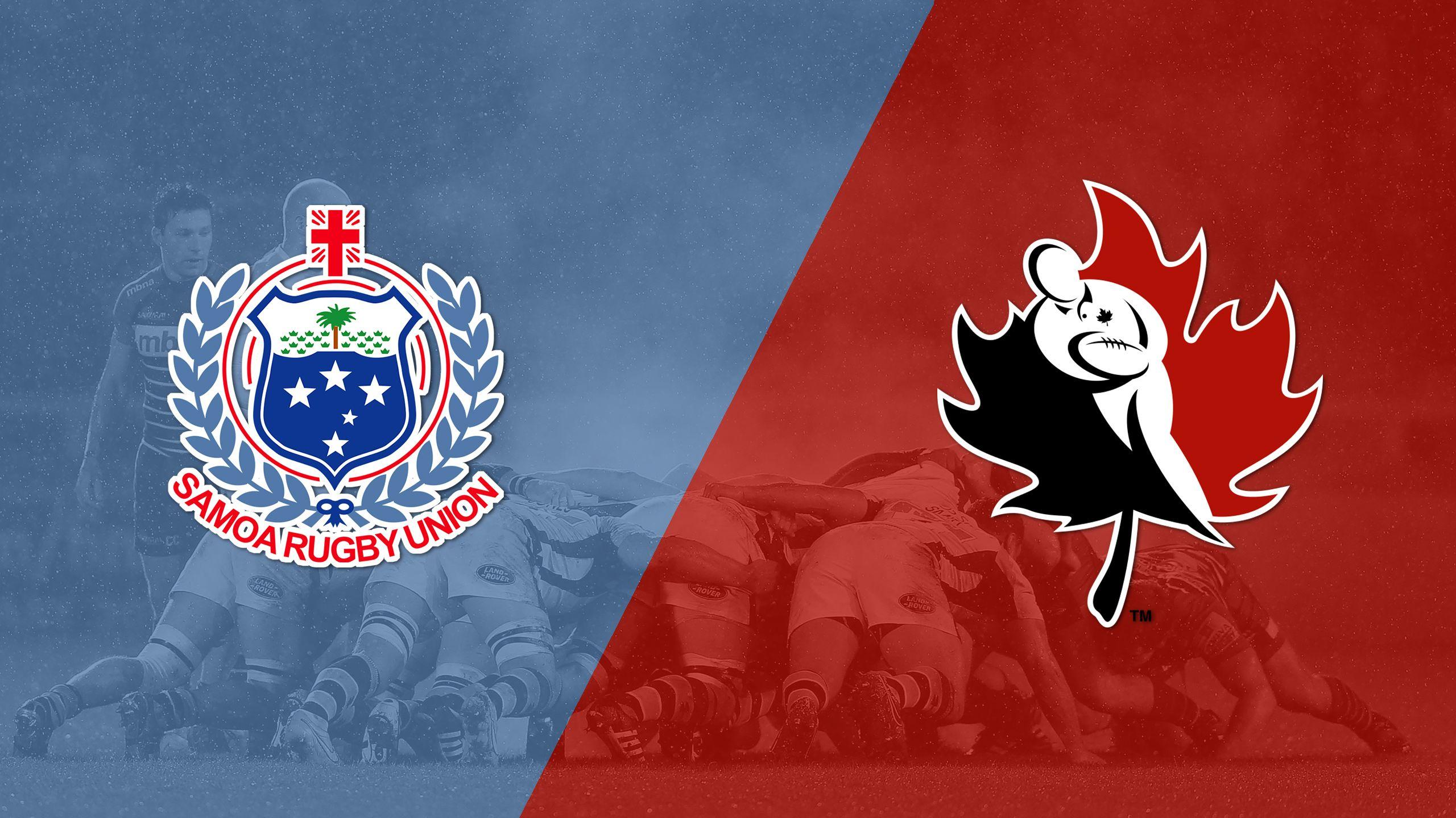 Samoa vs. Canada (World Rugby Sevens Series)
