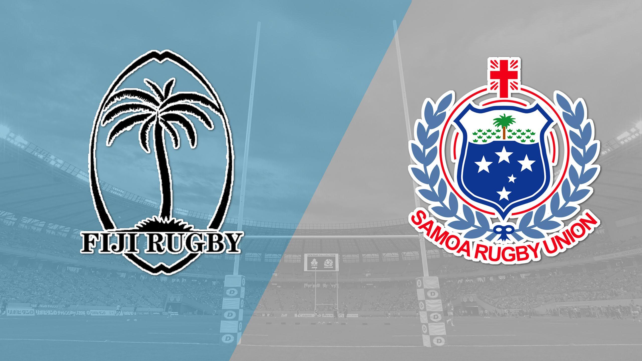 Fiji vs. Samoa (Cup Quarter Finals) (World Rugby Sevens Series)