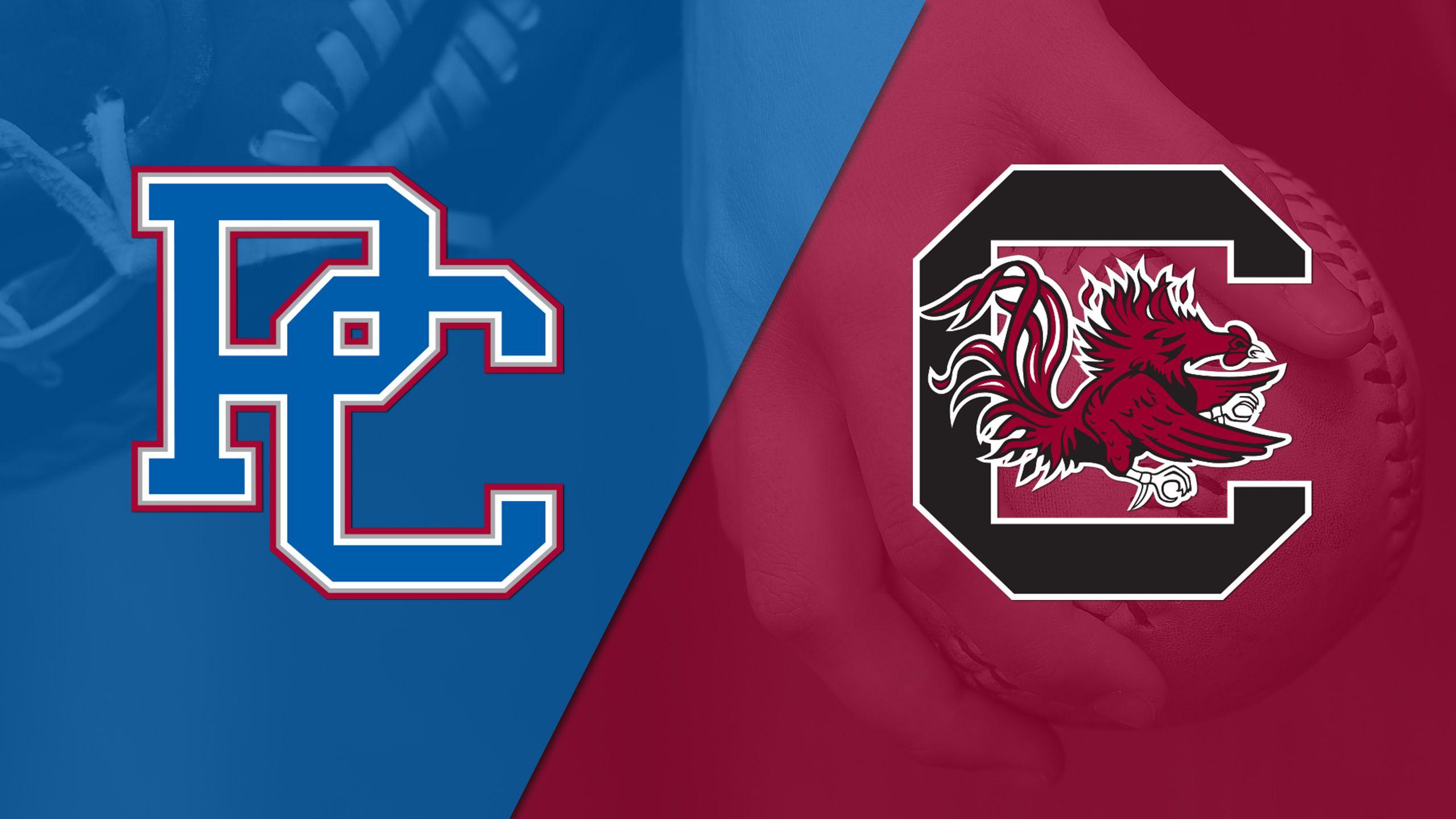 Presbyterian vs. South Carolina (Softball)