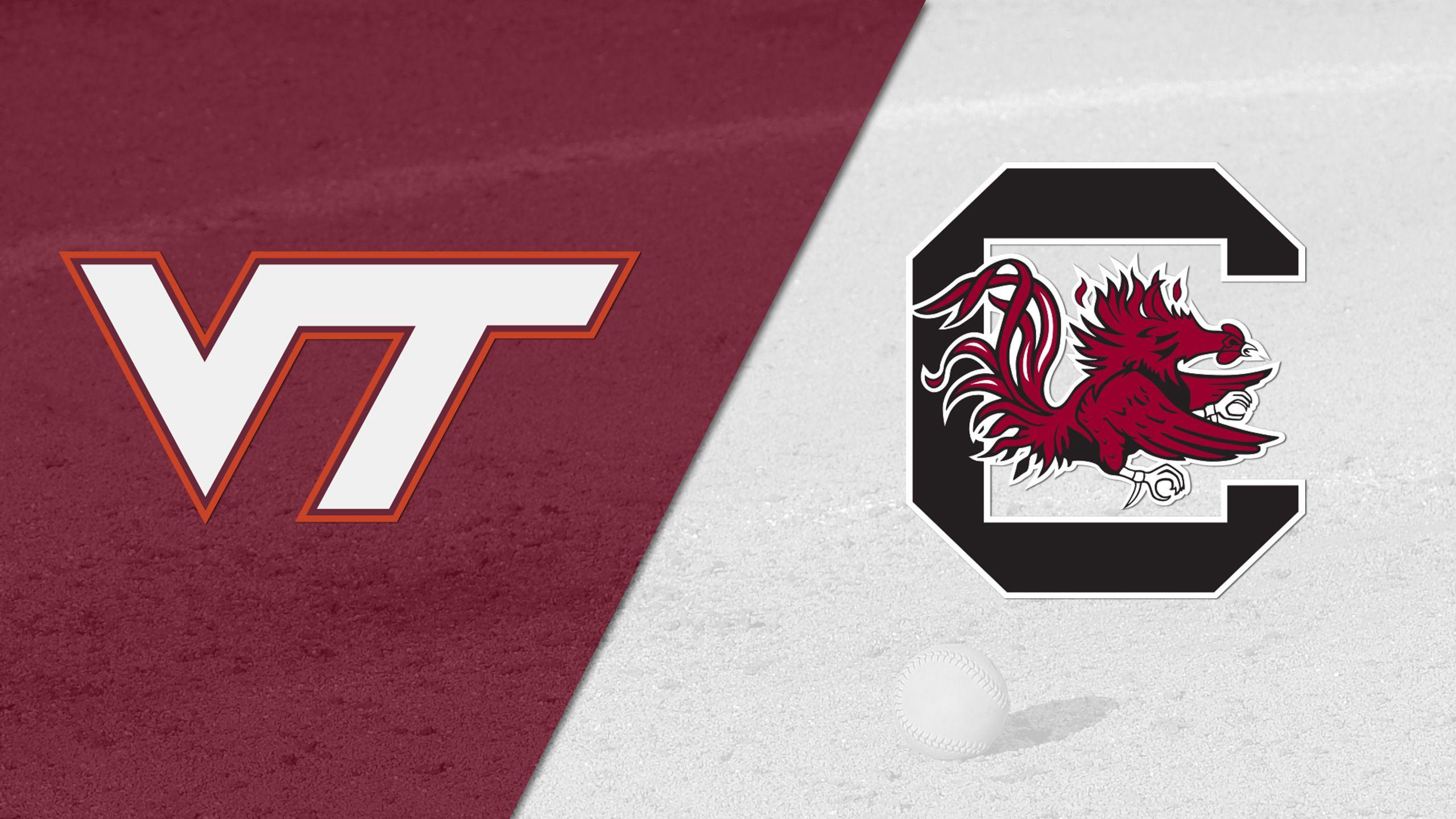 Virginia Tech vs. South Carolina (Softball)