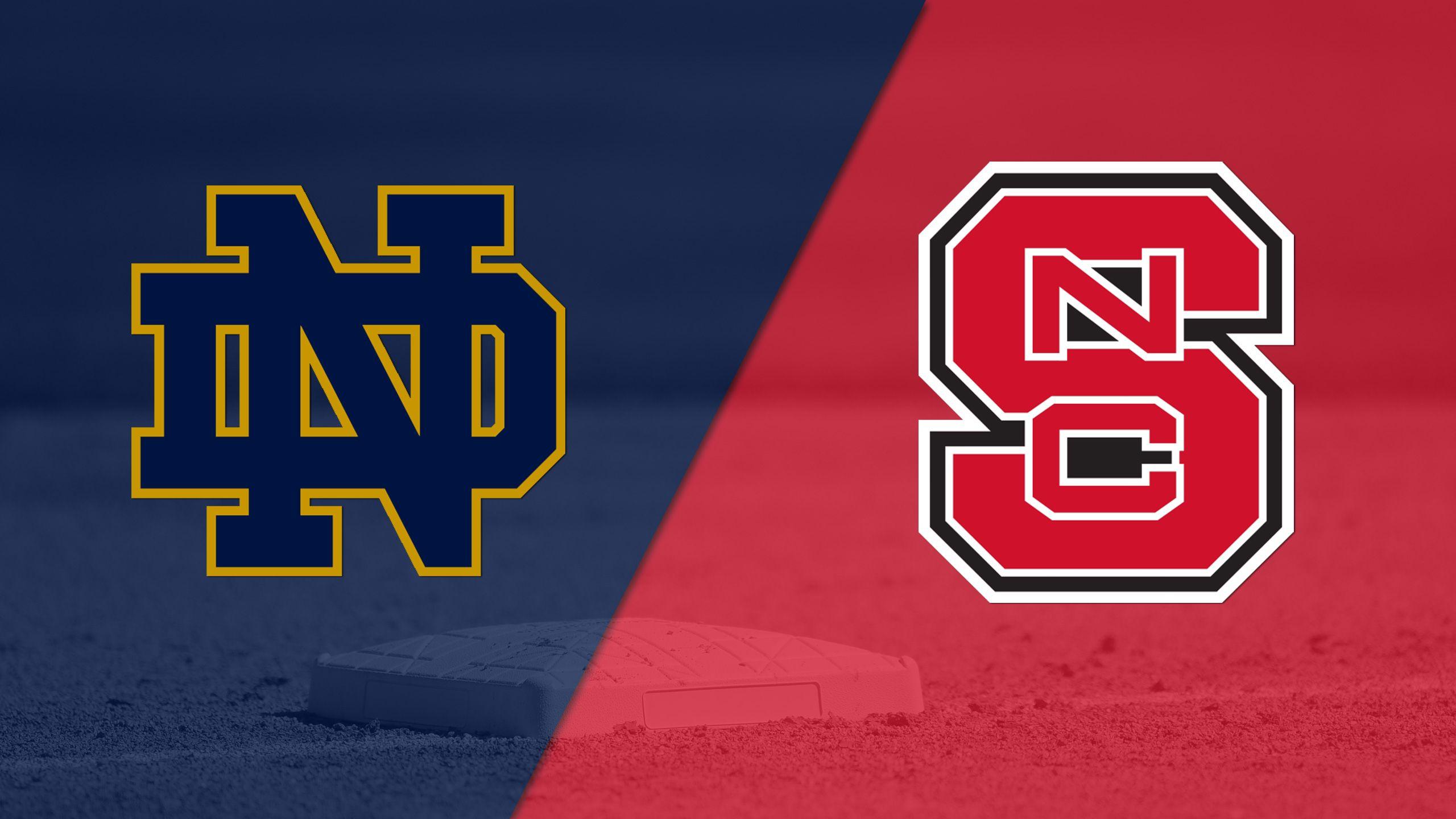 Notre Dame vs. NC State (Softball)