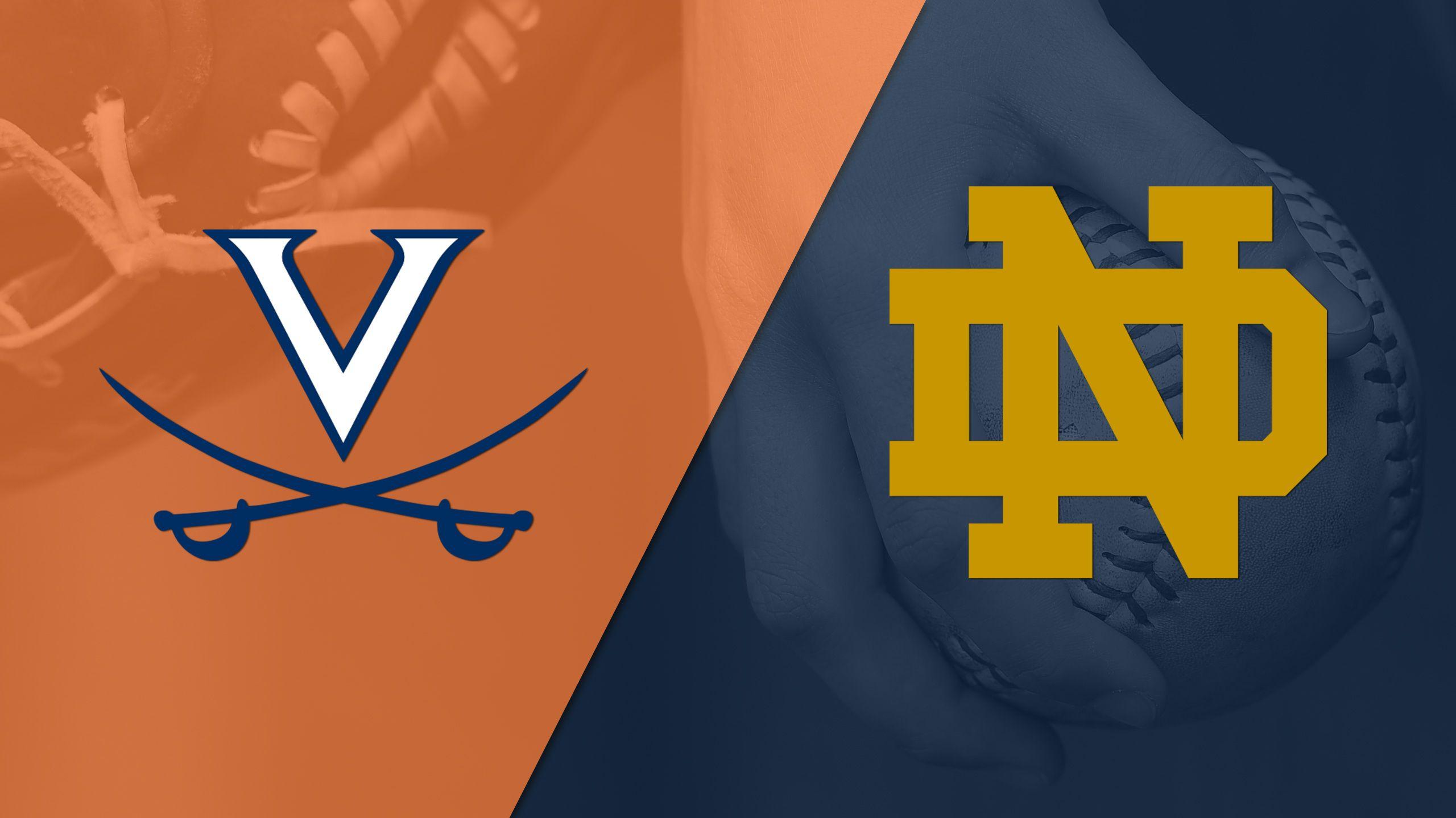 Virginia vs. Notre Dame (Softball)